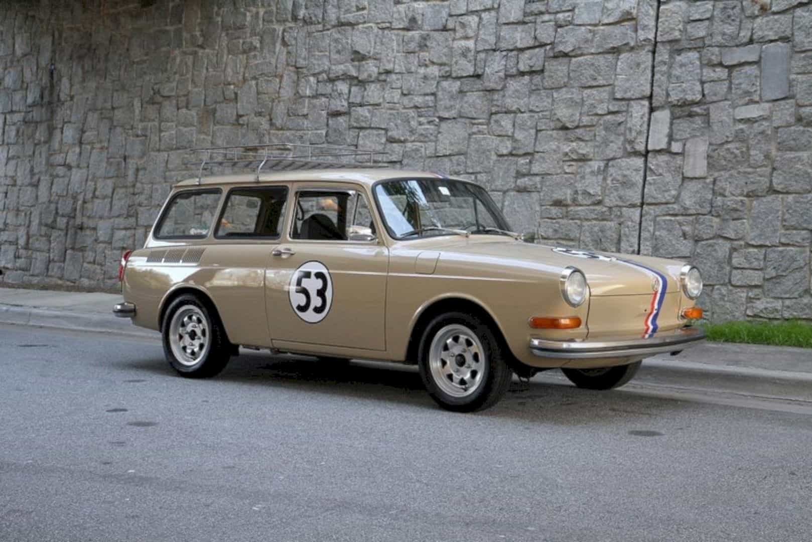 1972 Volkswagen Type 3 Squareback 9