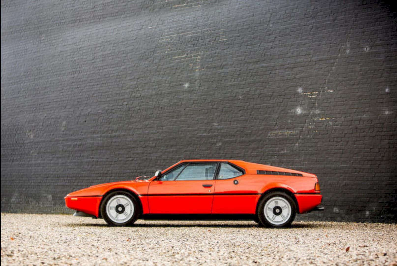 1980 Bmw M1 Coupe 1