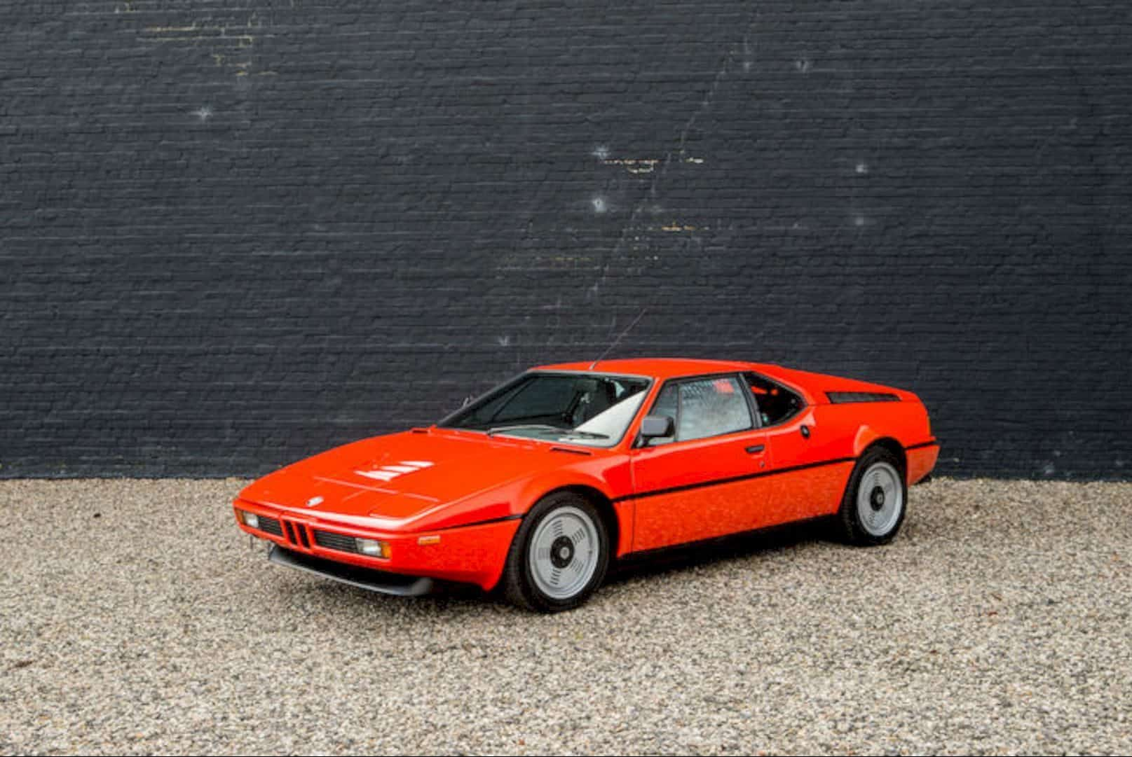 1980 Bmw M1 Coupe 9