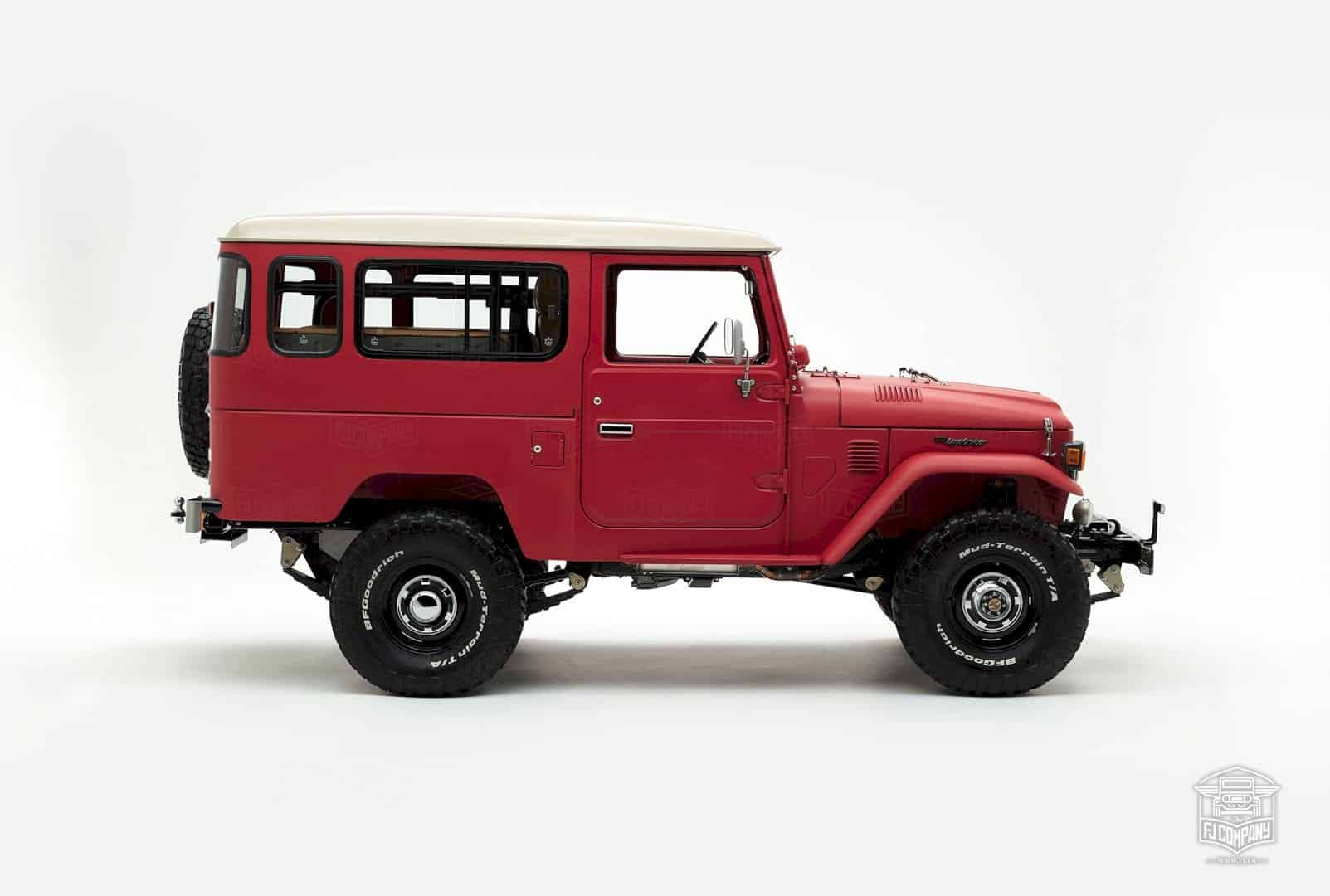 1981 Toyota Land Cruiser FJ43 – The Freeborn Red