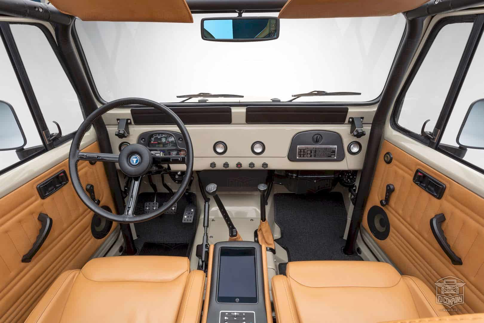 1981 Toyota Land Cruiser Fj43 Matte Dune Beige The Fj Of