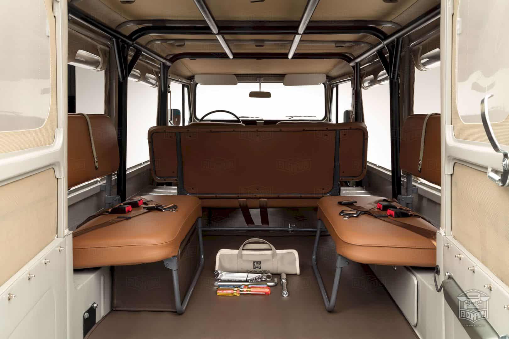 1981 Toyota Land Cruiser Fj45 Beige 3