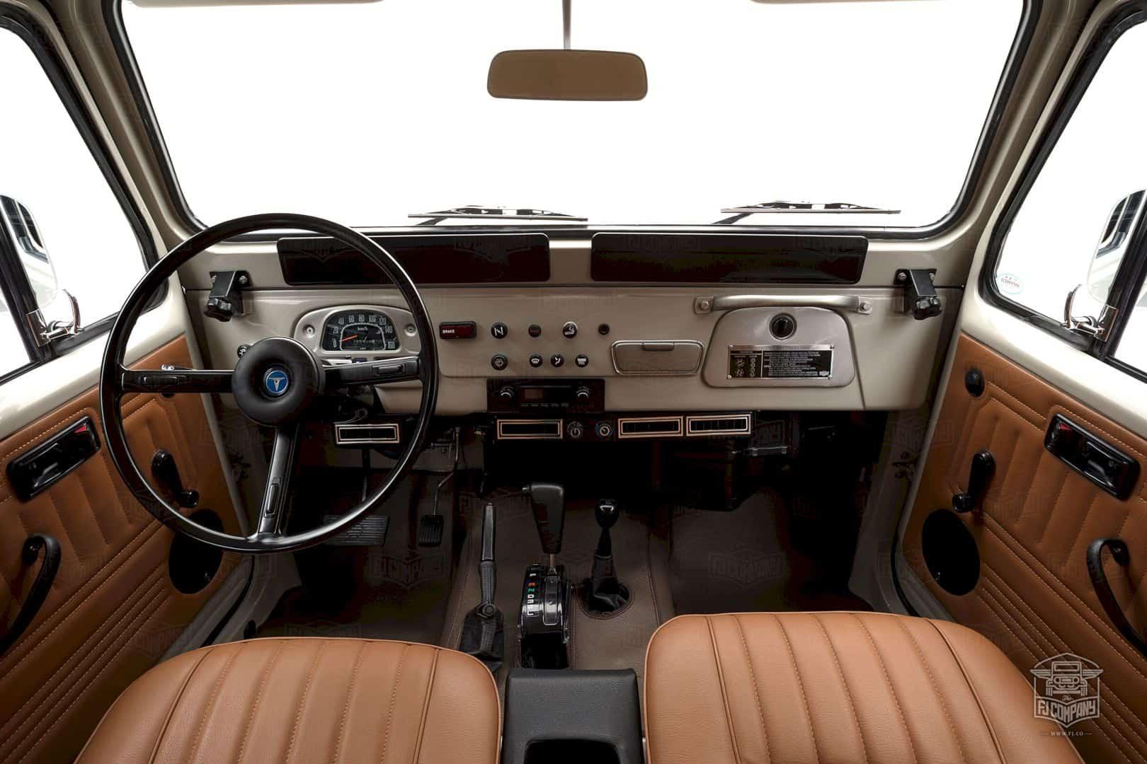1981 Toyota Land Cruiser Fj45 Beige 4