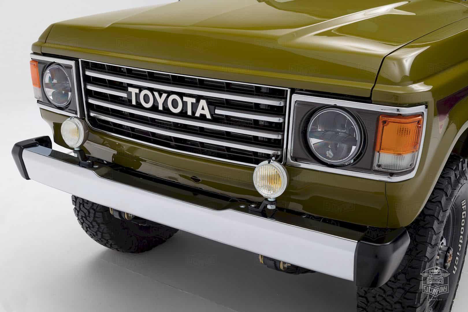 1986 Toyota Land Cruiser Fj62 Olive 1
