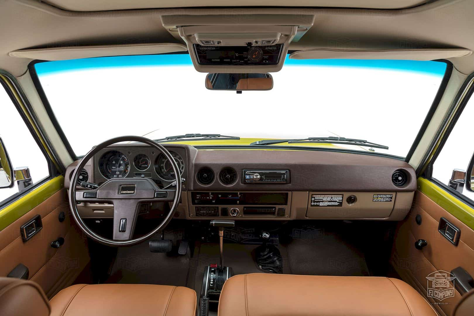 1986 Toyota Land Cruiser Fj62 Olive 4