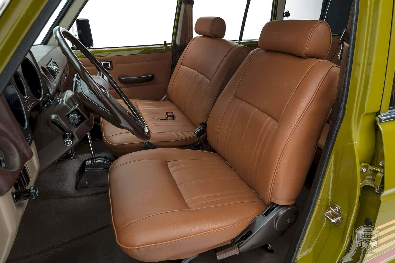 1986 Toyota Land Cruiser Fj62 Olive 5