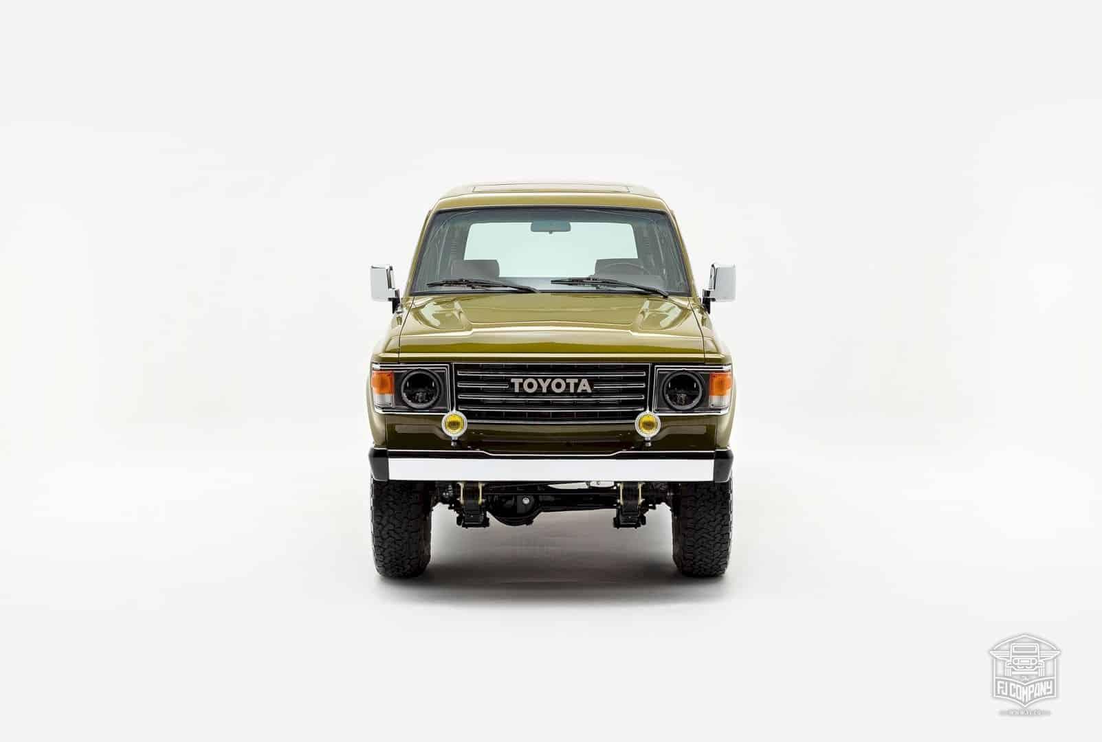 1986 Toyota Land Cruiser Fj62 Olive 6