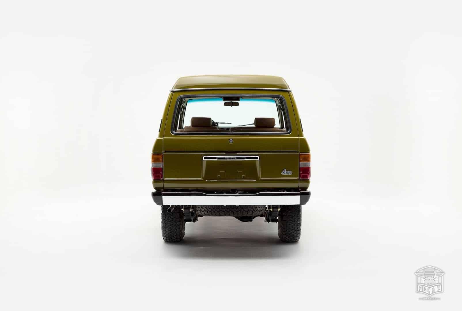 1986 Toyota Land Cruiser Fj62 Olive 7