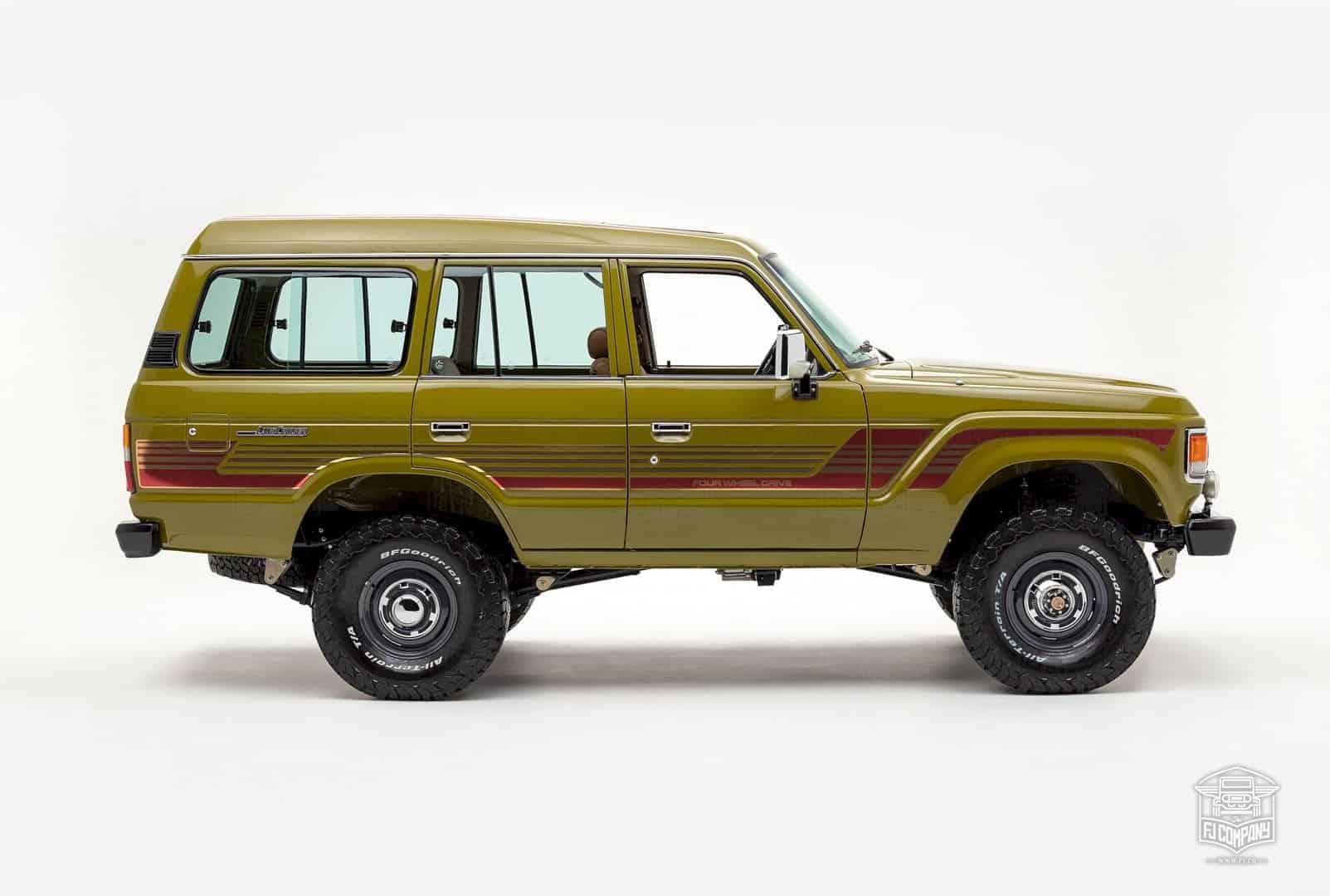 1986 Toyota Land Cruiser Fj62 Olive 8