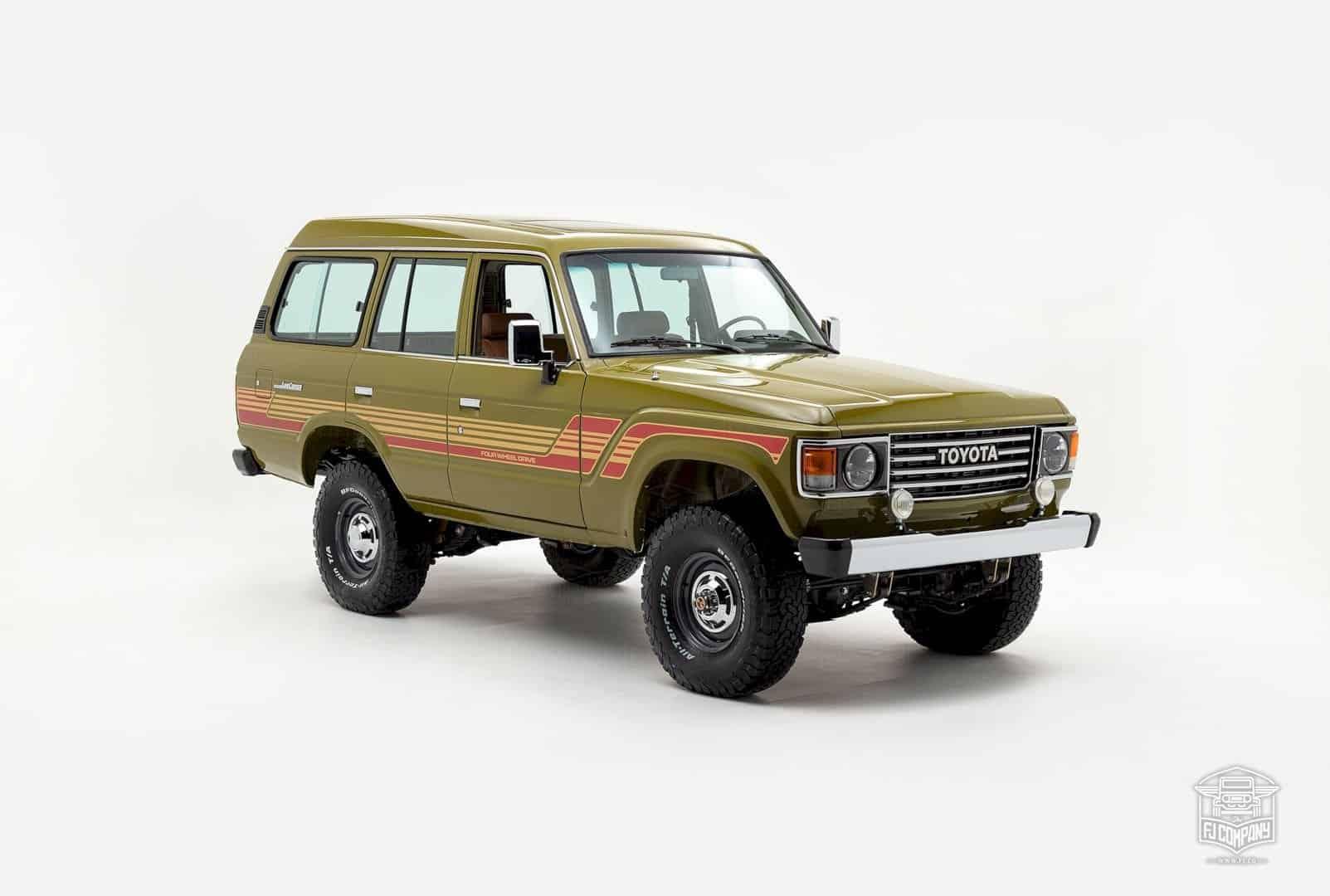 1986 Toyota Land Cruiser Fj62 Olive 9