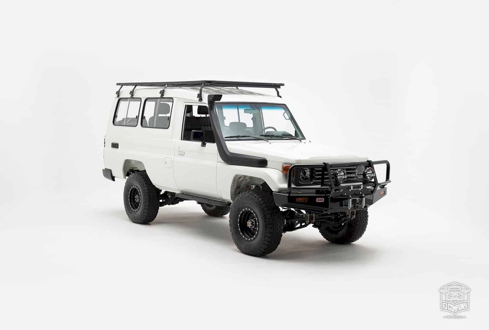 1992 Toyota Land Cruiser Hzj75 6