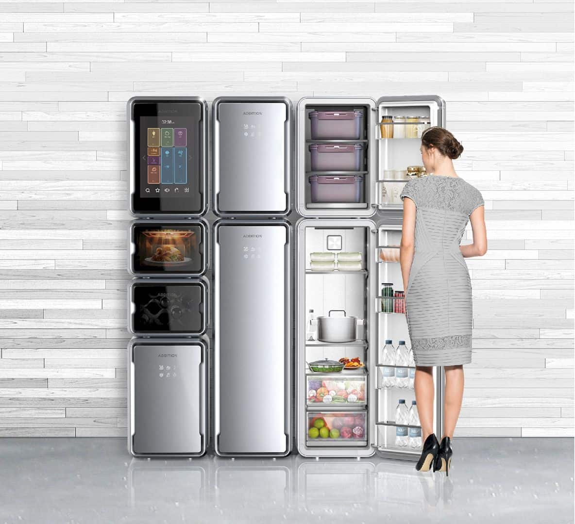 ADDITION: A Small-Sized Refrigerator for Better Food Management
