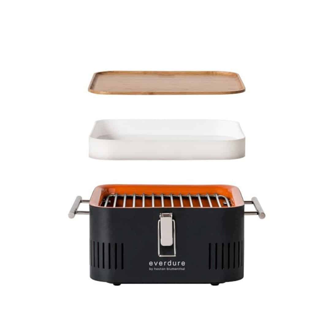 Everdure Cube Charcoal Barbecue: Innovative Charcoal Grill for Perfectly Cooked Meat