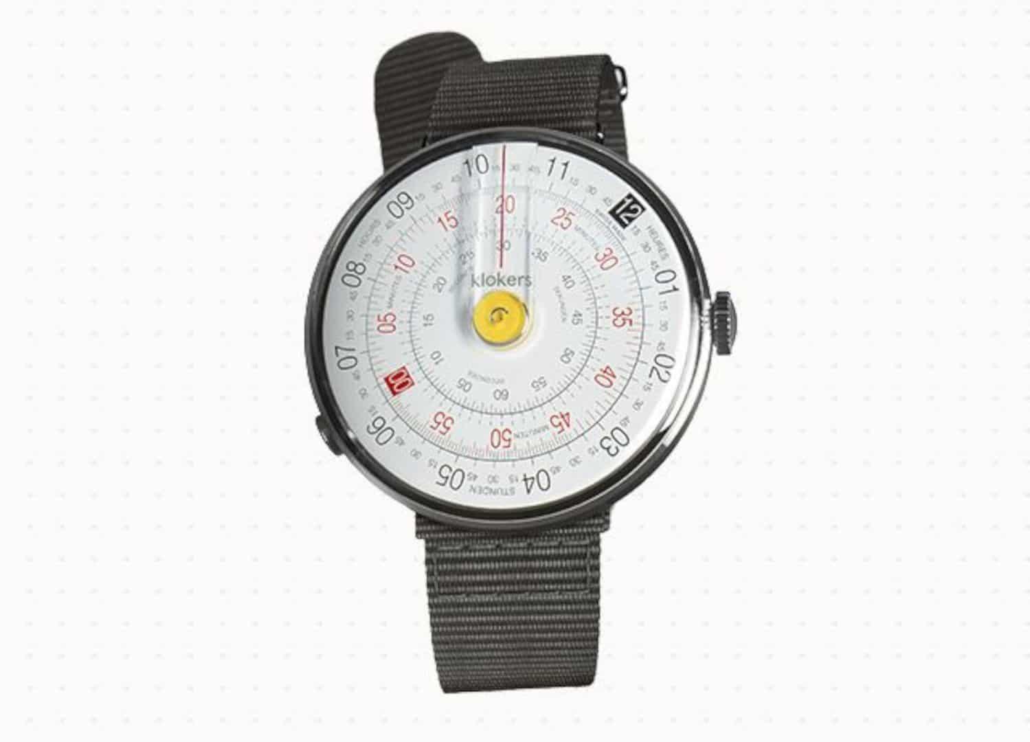 KLOK-01-TEXTILE STRAP: A Unique Watch with Stylish Textile Strap