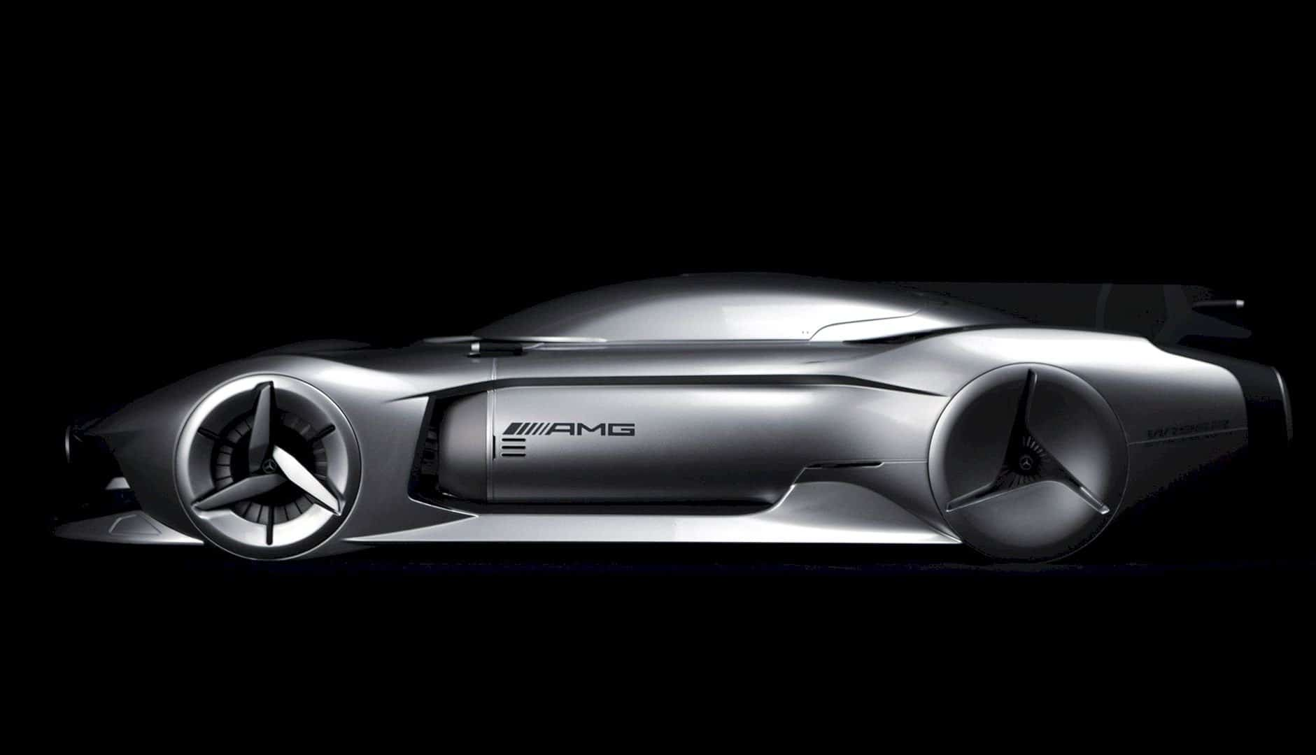 Mercedes Benz 2040 W196R Streamliner 11