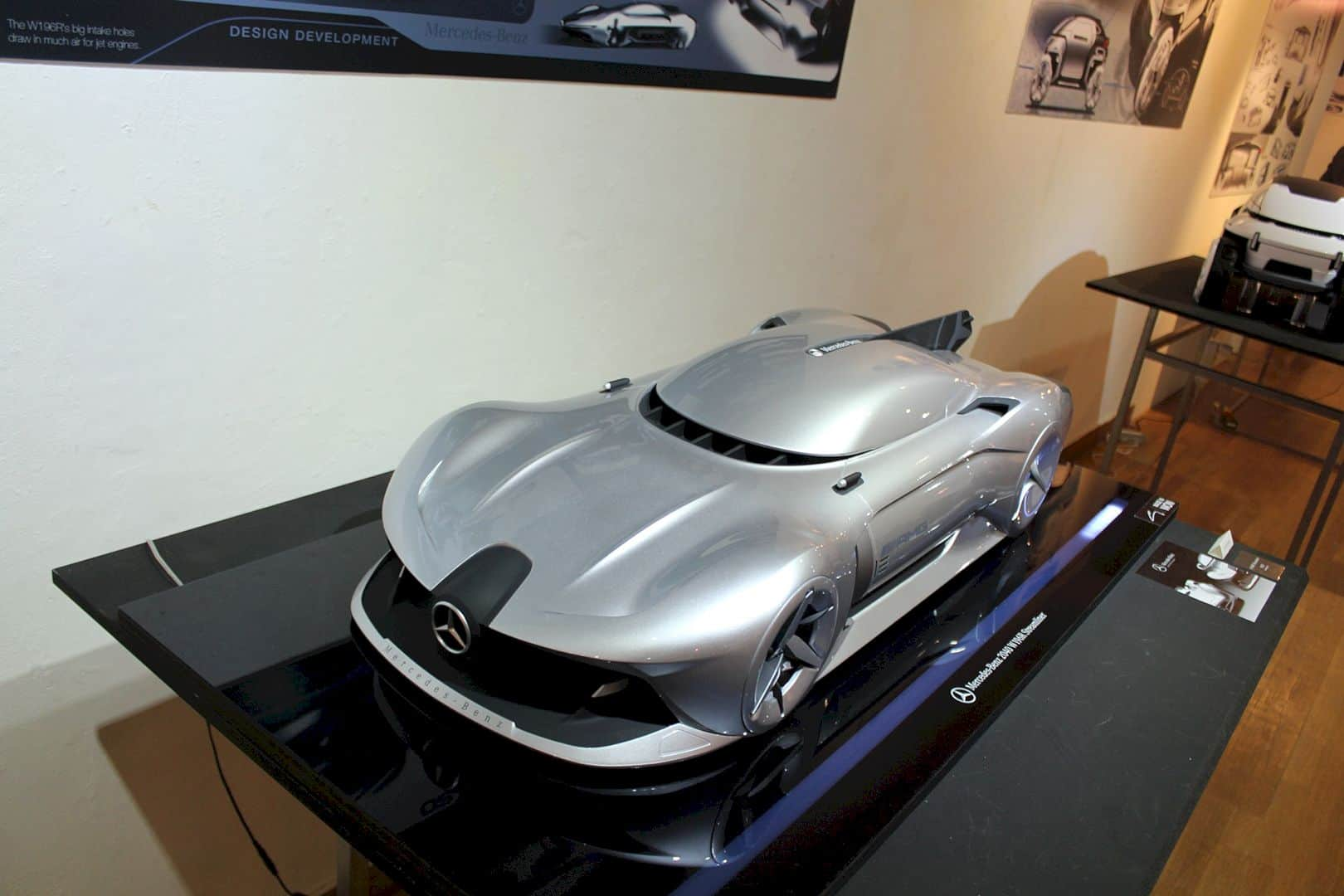 Mercedes Benz 2040 W196R Streamliner 8