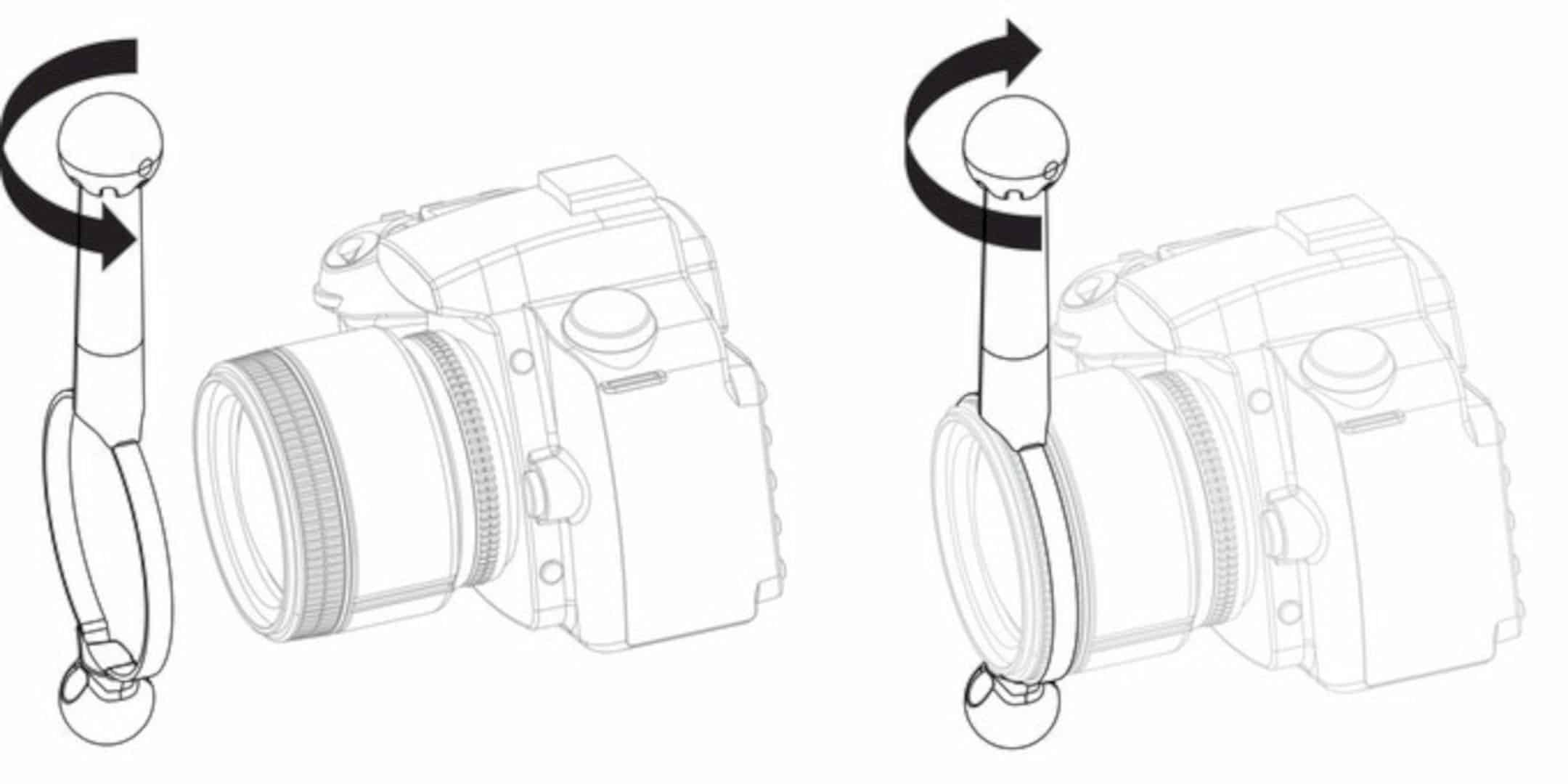 Lensshifter The Only Balanced Focus Zoom Camera Lens Grip