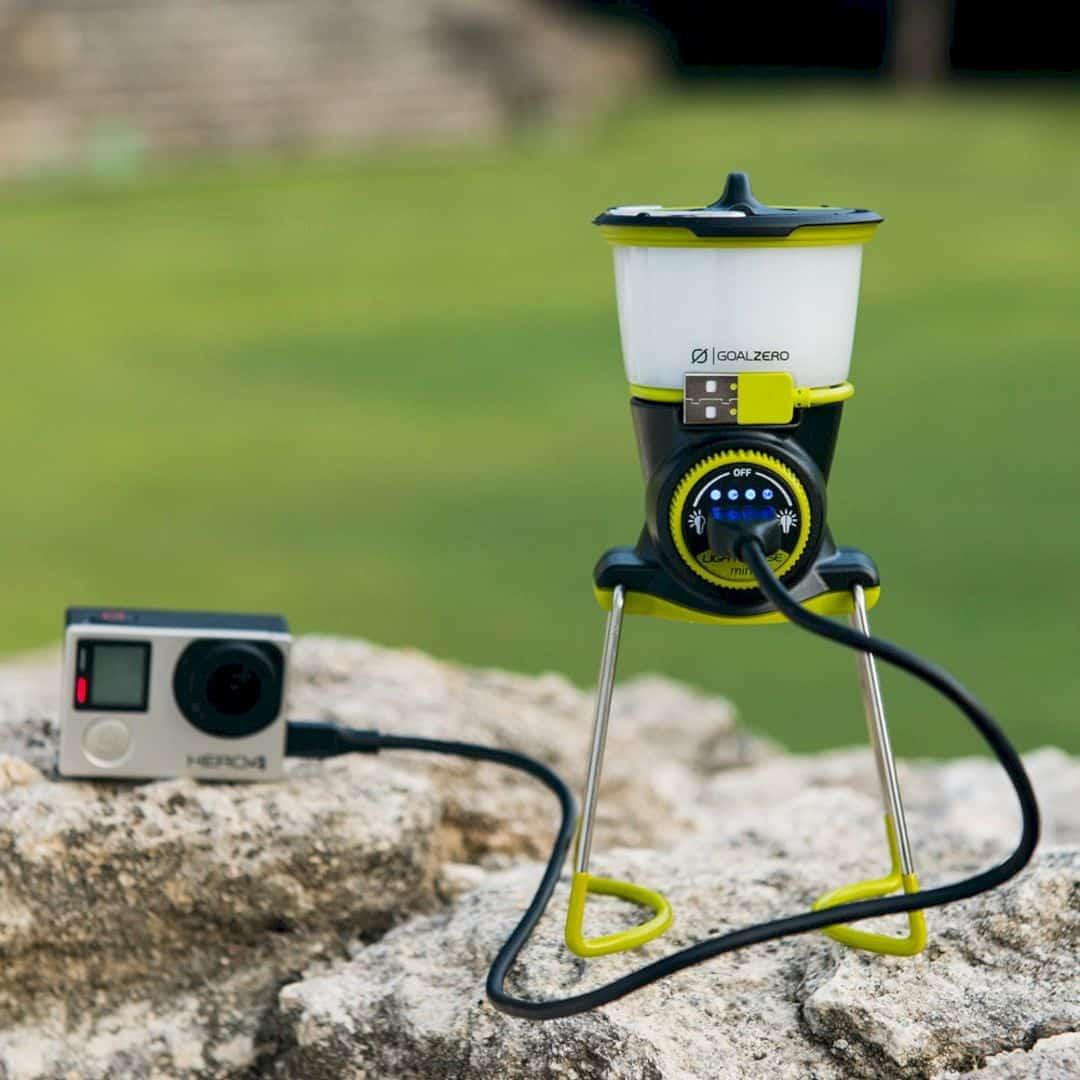 Lighthouse Mini Lantern by Goal Zero: Powerful Mini Lantern – Size Really Doesn't Matter.
