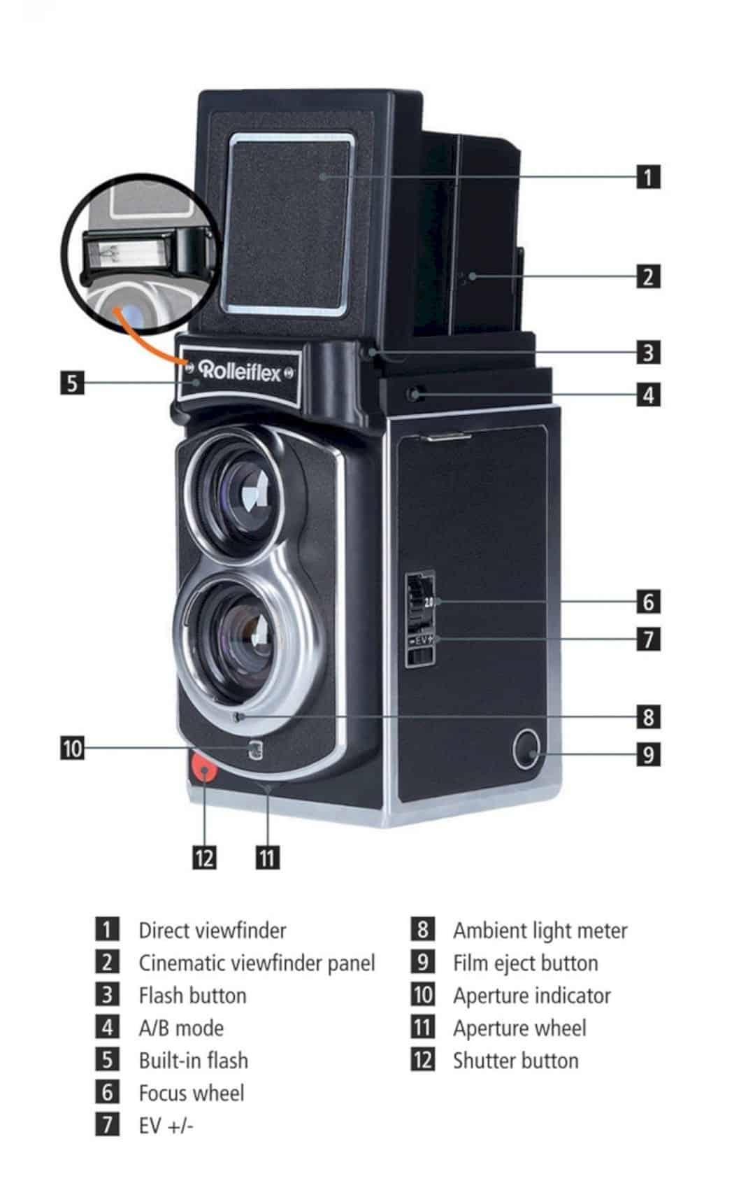 Rolleiflex™ Instant Kamera 1