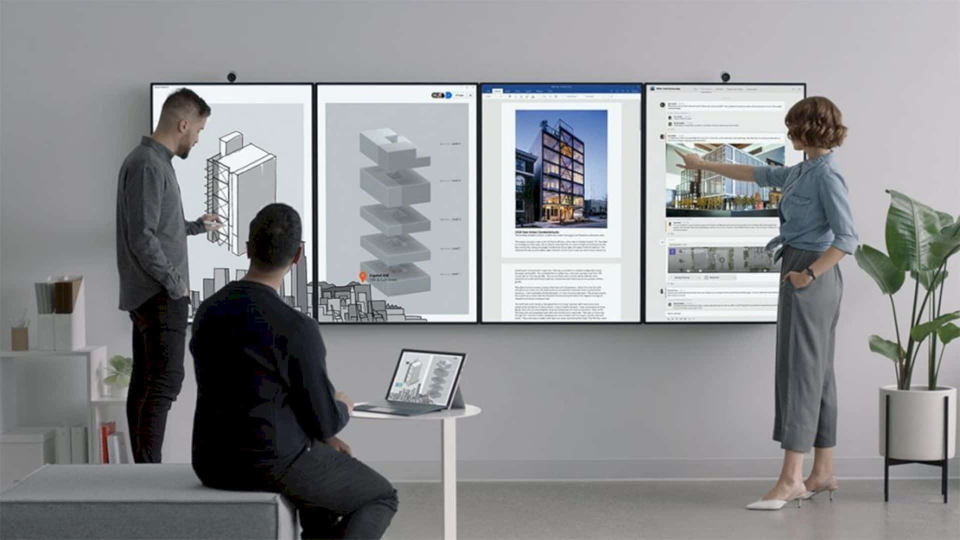 Surface Hub 2: For an Office of the Future