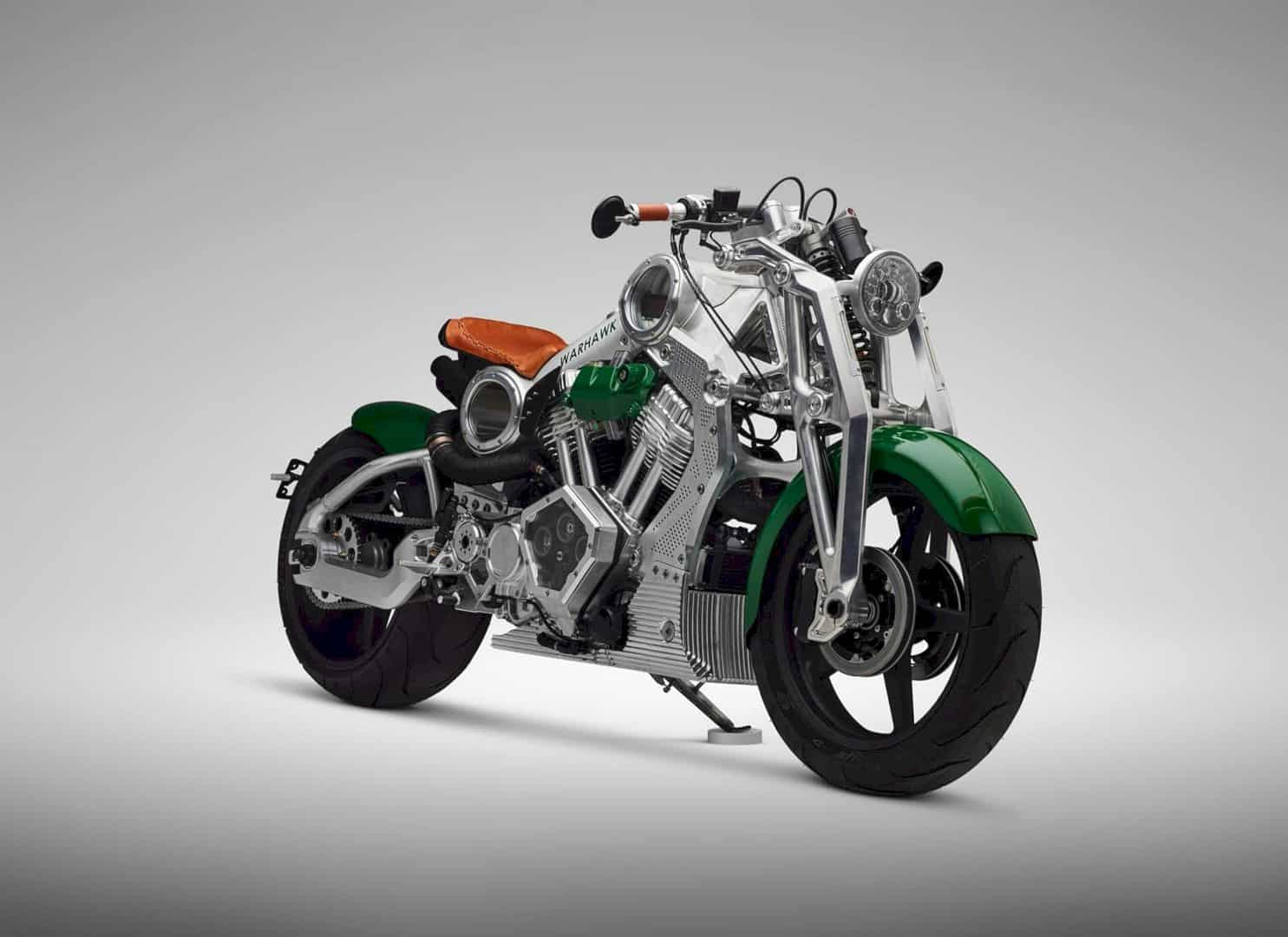 Warhawk by Curtiss Motorcycle: The First in 105 Years - That's Long Dude...