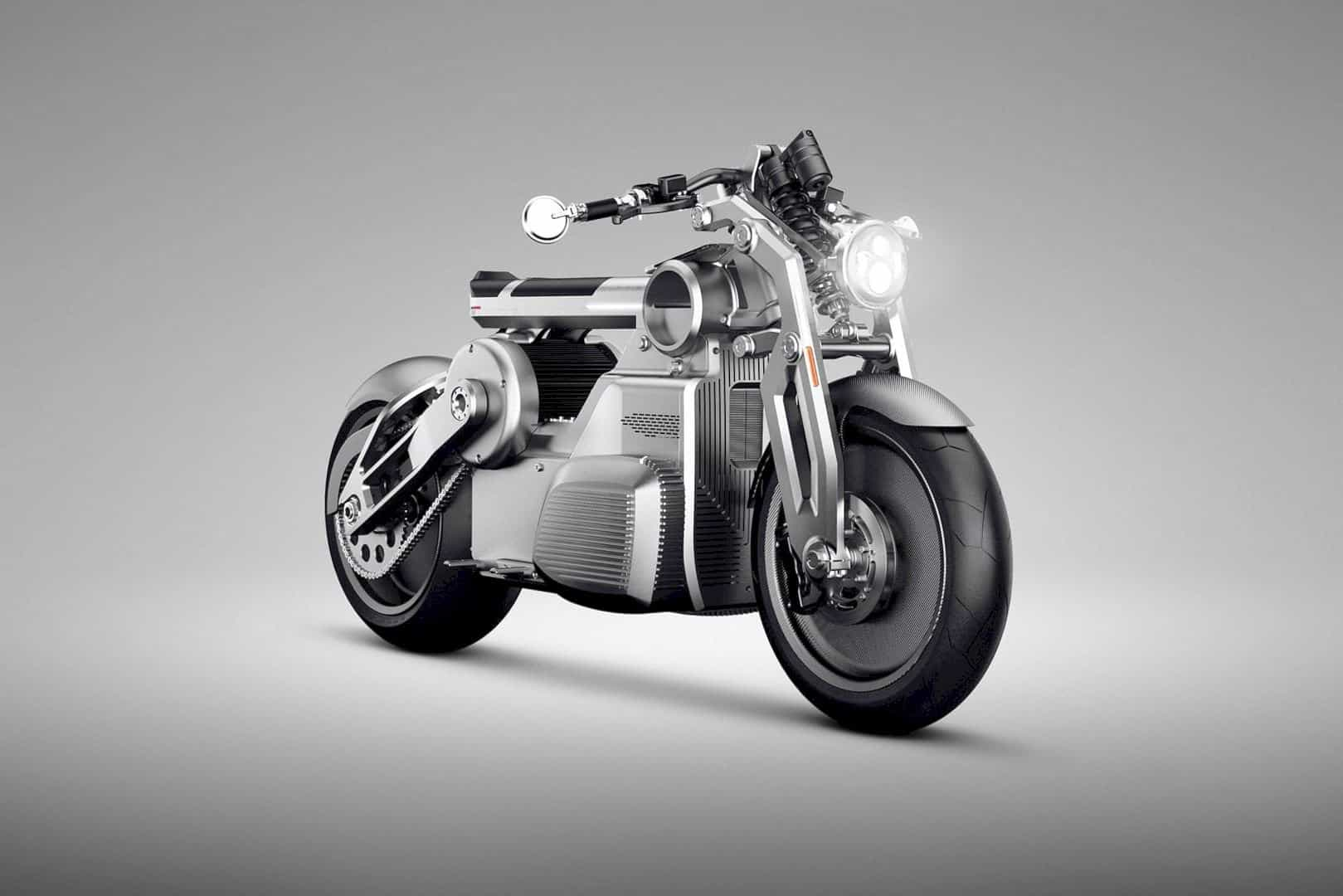 Zeus by Curtiss Motorcycle: The All-Electric Beast