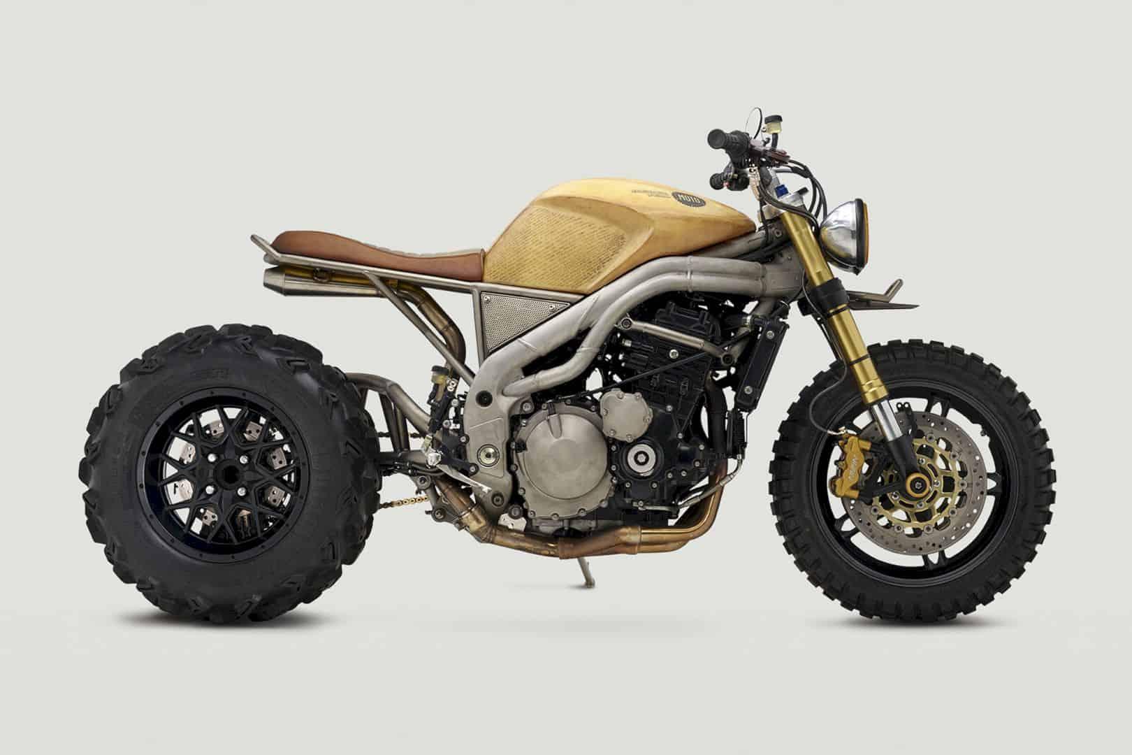 """2007 Triumph Speed Triple 1050 Codenamed """"Frank"""" by Classified Moto – The Hyperbeast"""