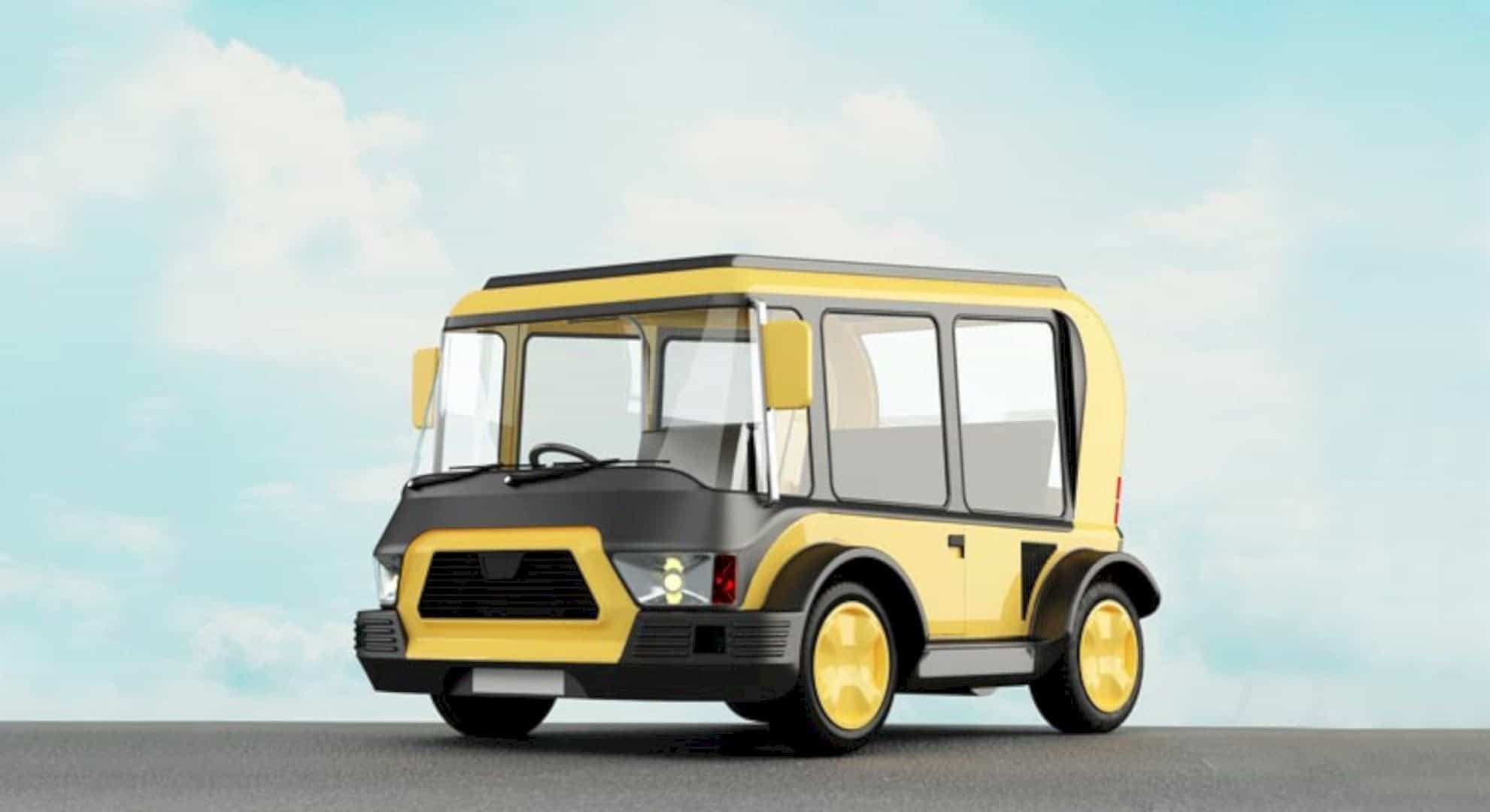 Solar Taxi 6