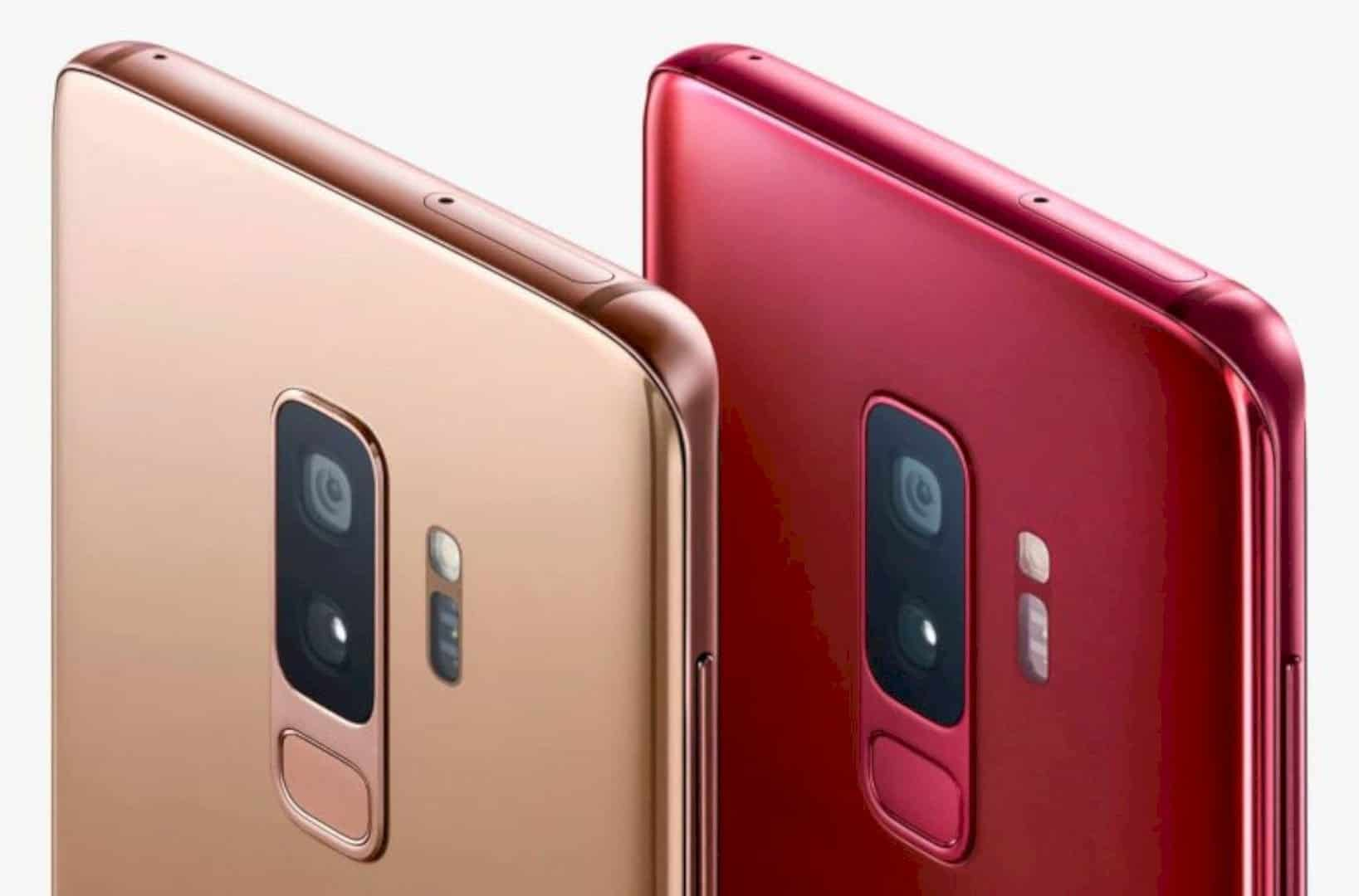 Sunrise Gold And Burgundy Red Editions For Galaxy S9 And S9 1