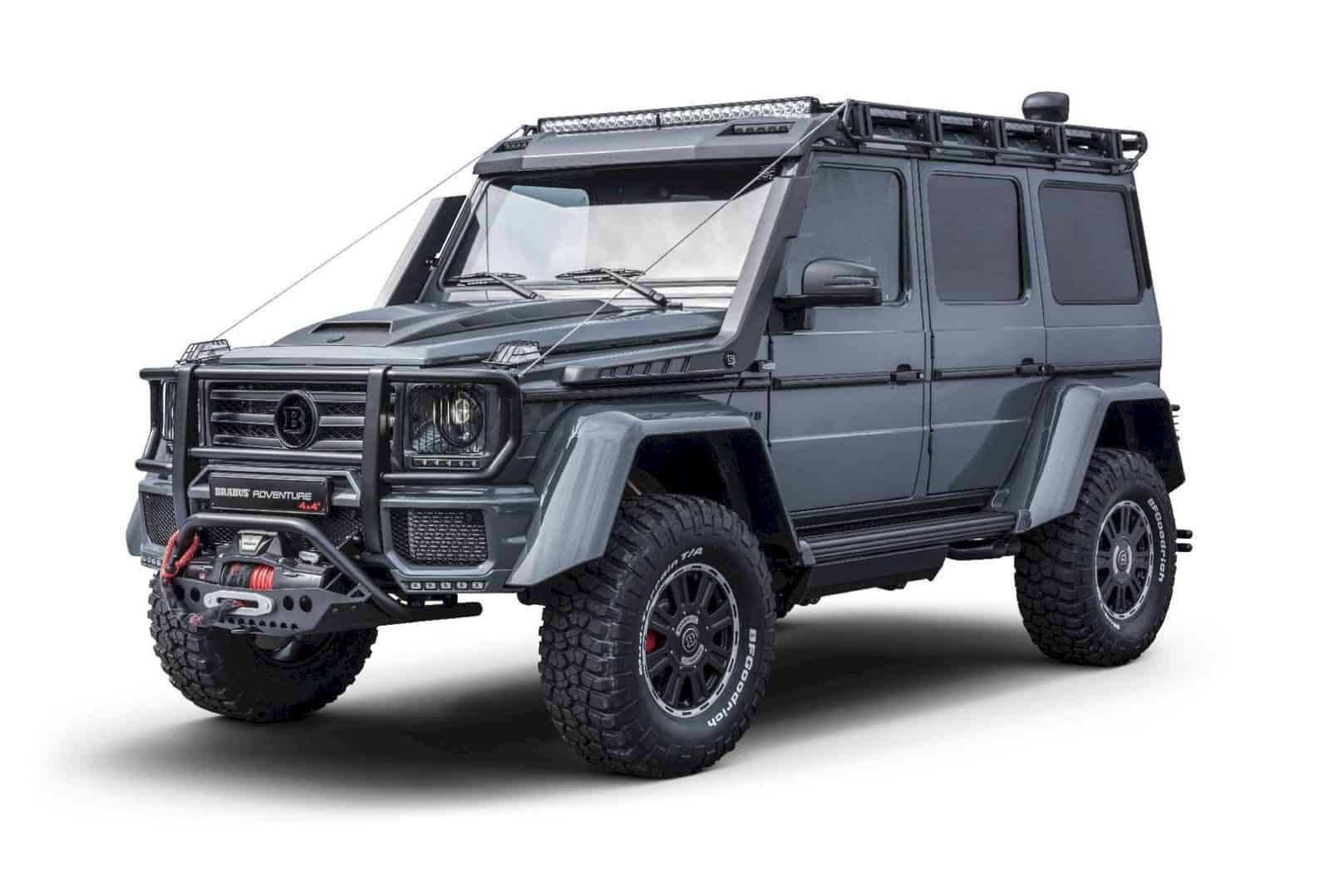 BRABUS Adventure 4x4² - The Best in the Class