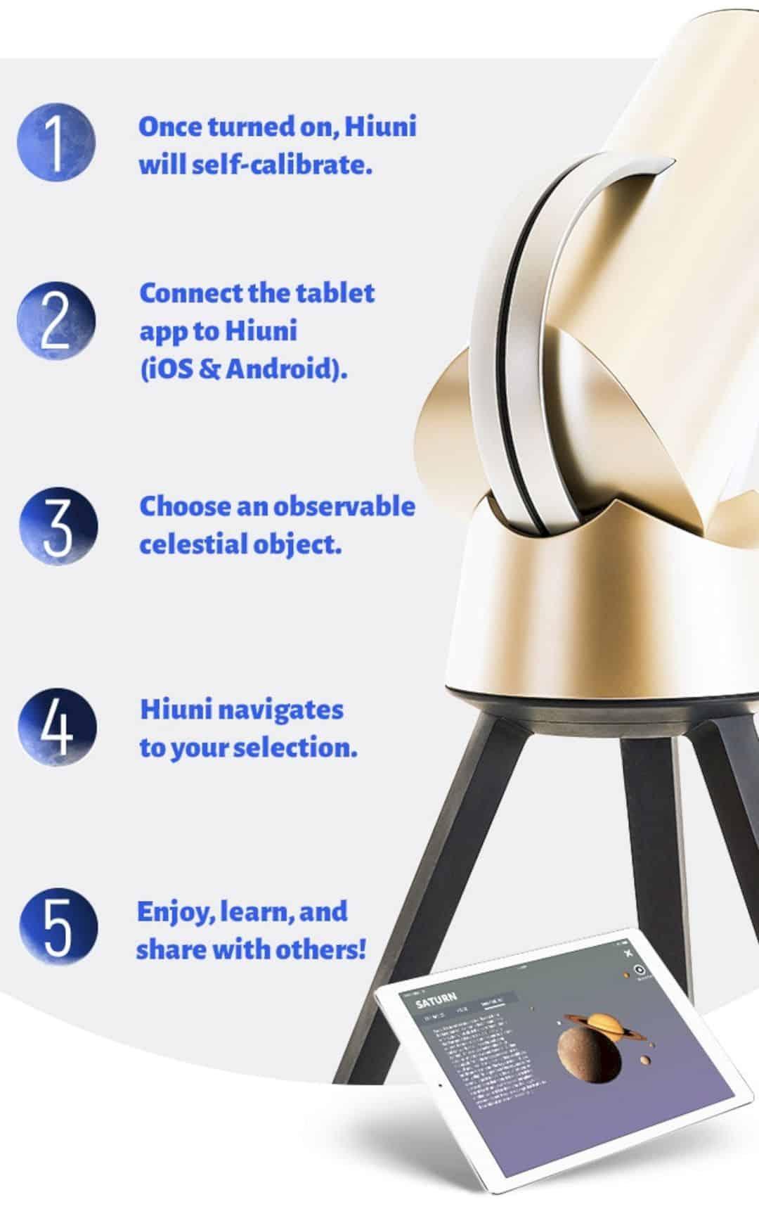 Hiuni Smart Telescope 4