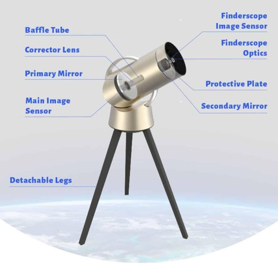 Hiuni Smart Telescope 7
