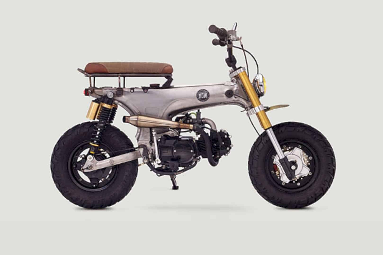 "Honda CT70 Scrambler ""Junior"" by Classified Moto: Livin' The Dream"
