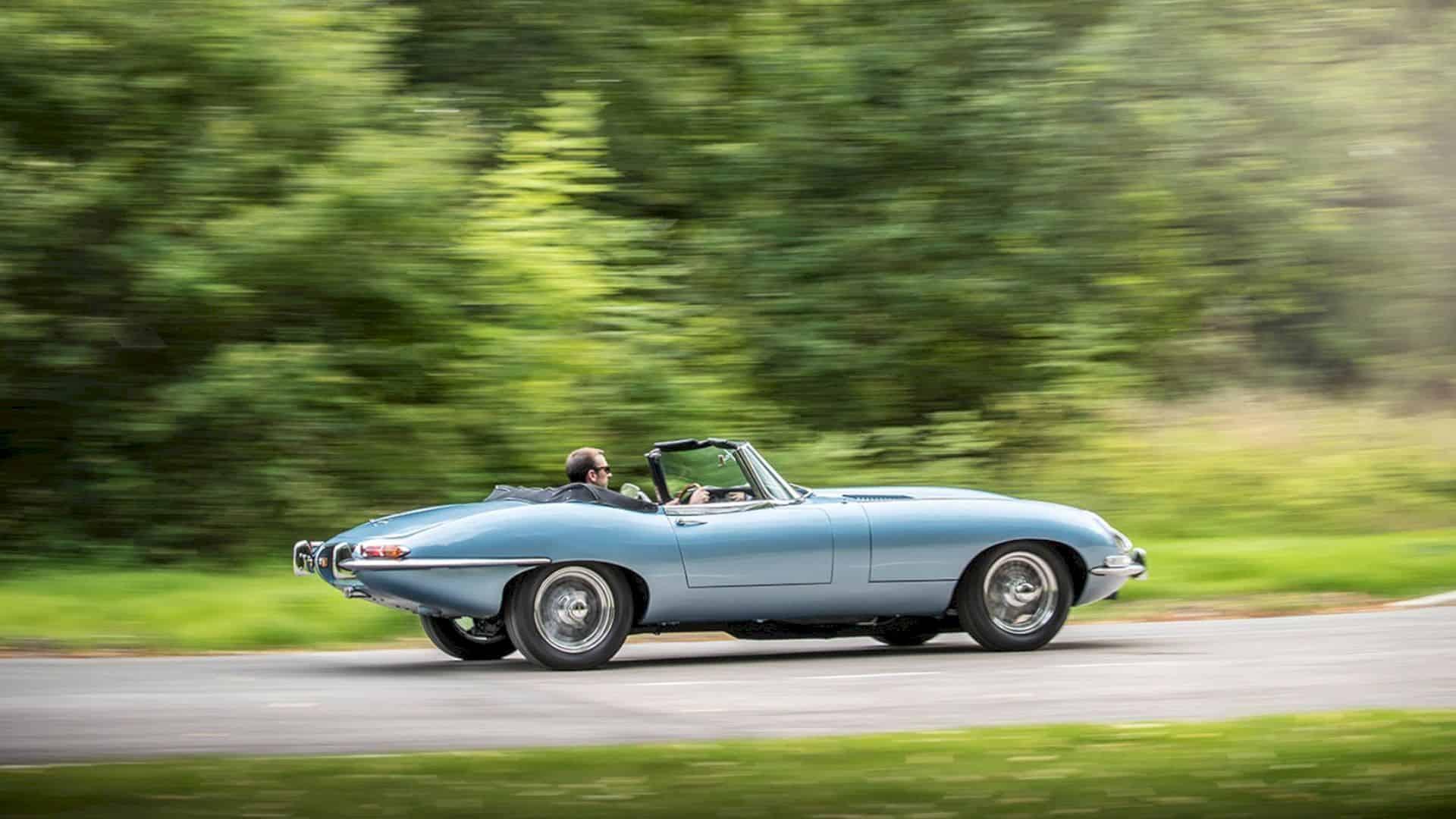 Jaguar E Type Concept Zero 1