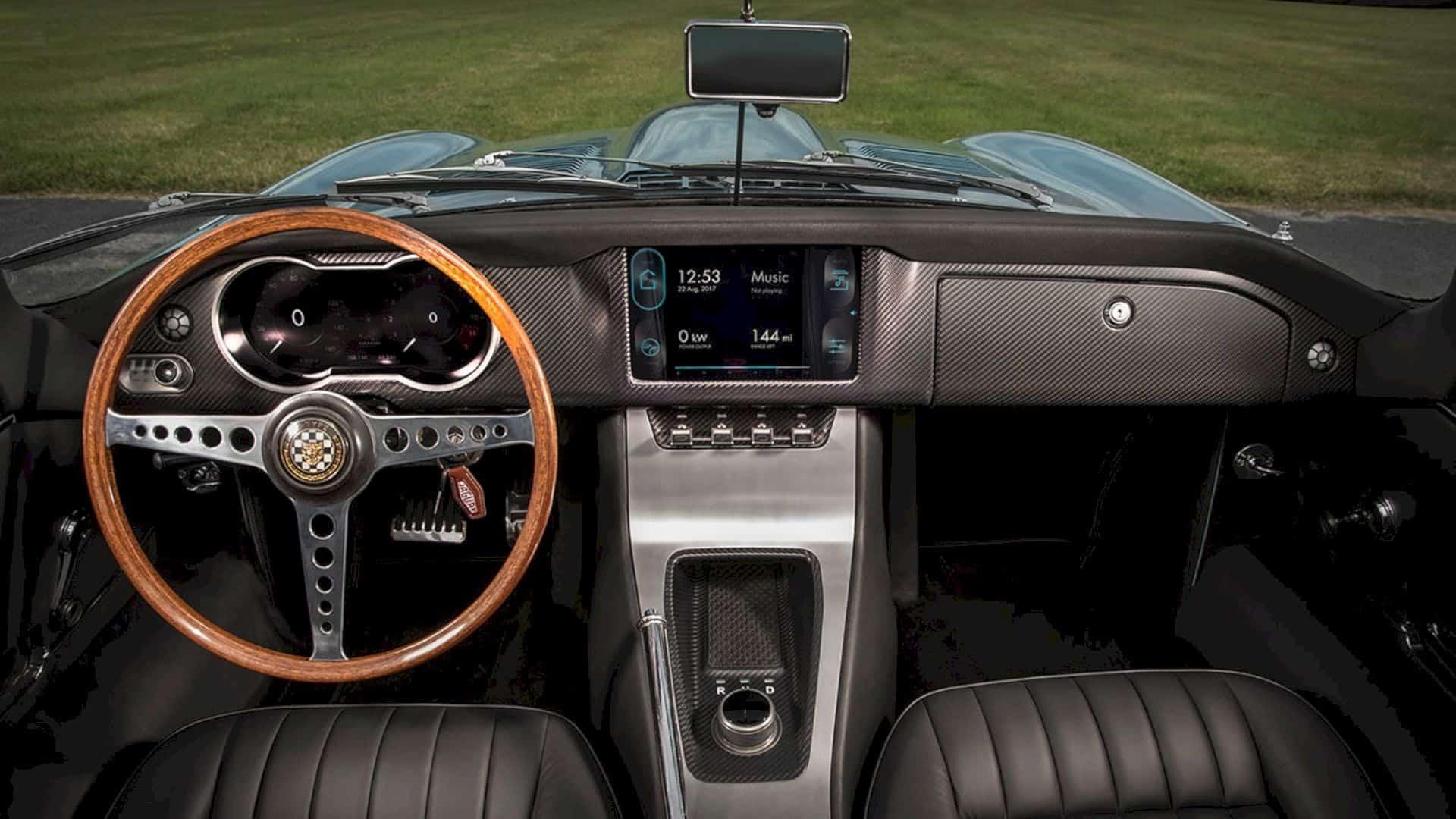 Jaguar E Type Concept Zero 3