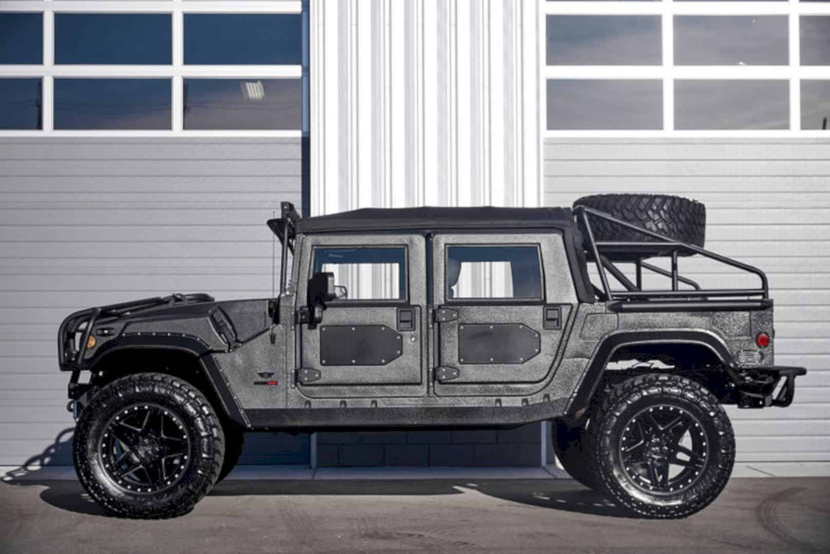 Reaper Truck For Sale >> Mil-Spec Automotive Hummer H1 Launch Edition – Unleash The Robust Beast | Design Listicle