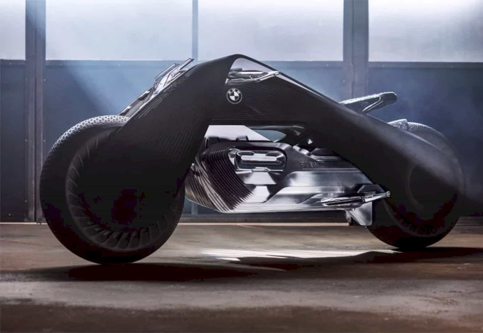 The BMW Vision Next 100 Concept Motorcycle: The Real Deal in Futuristic Bike!
