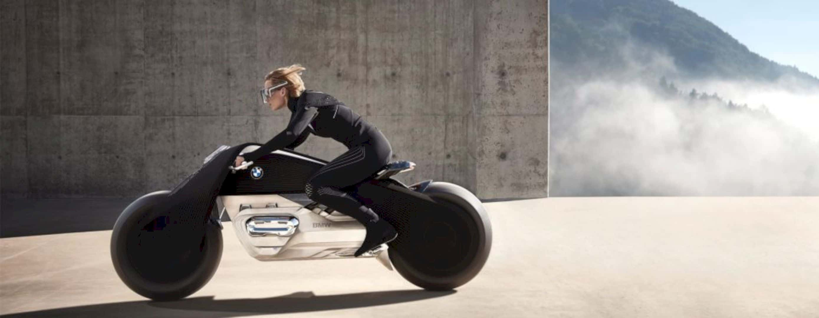 The Bmw Vision Next 100 Concept Motorcycle 7