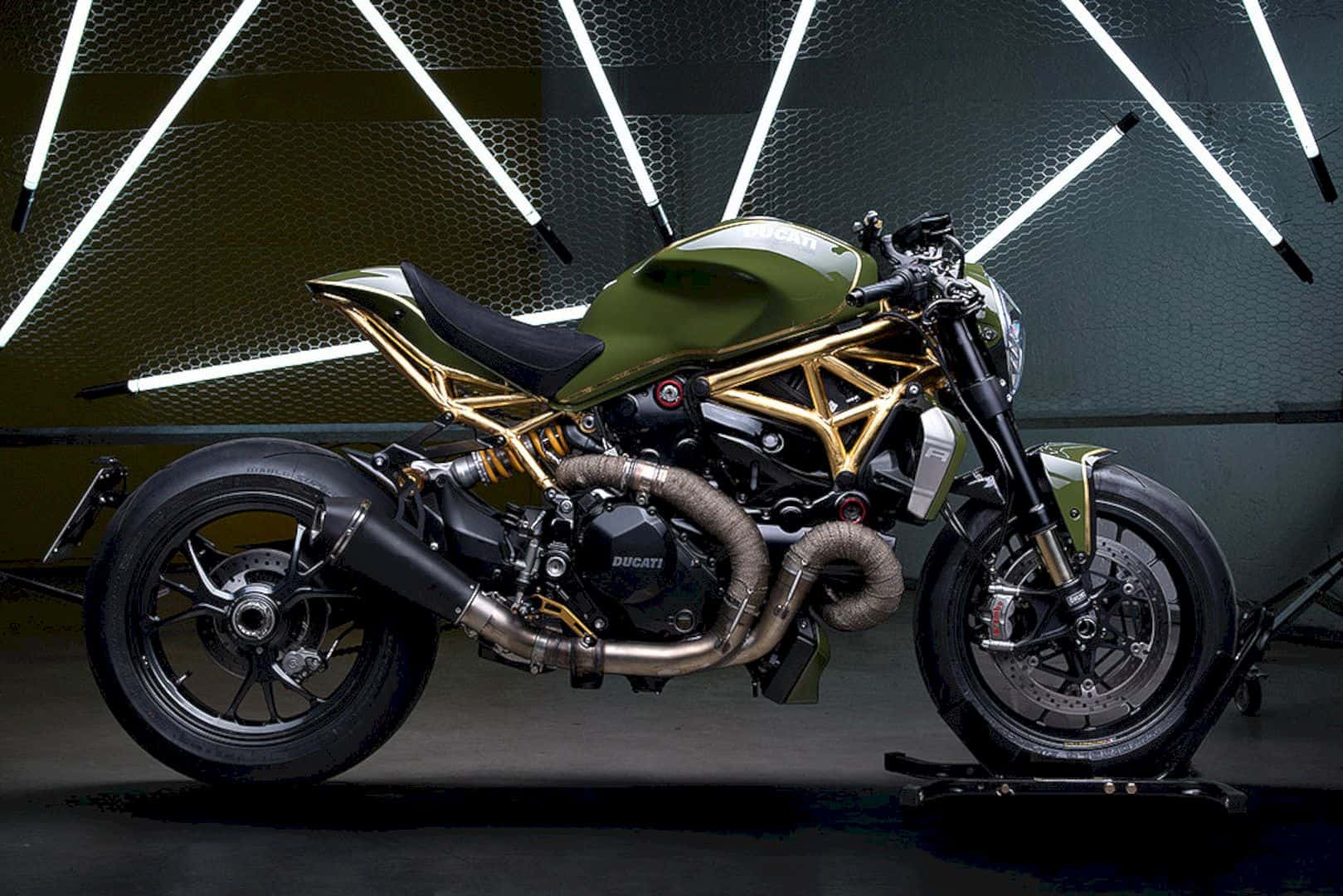 The Golden Monster by Diamond Atelier – The 24K Real Special Machine