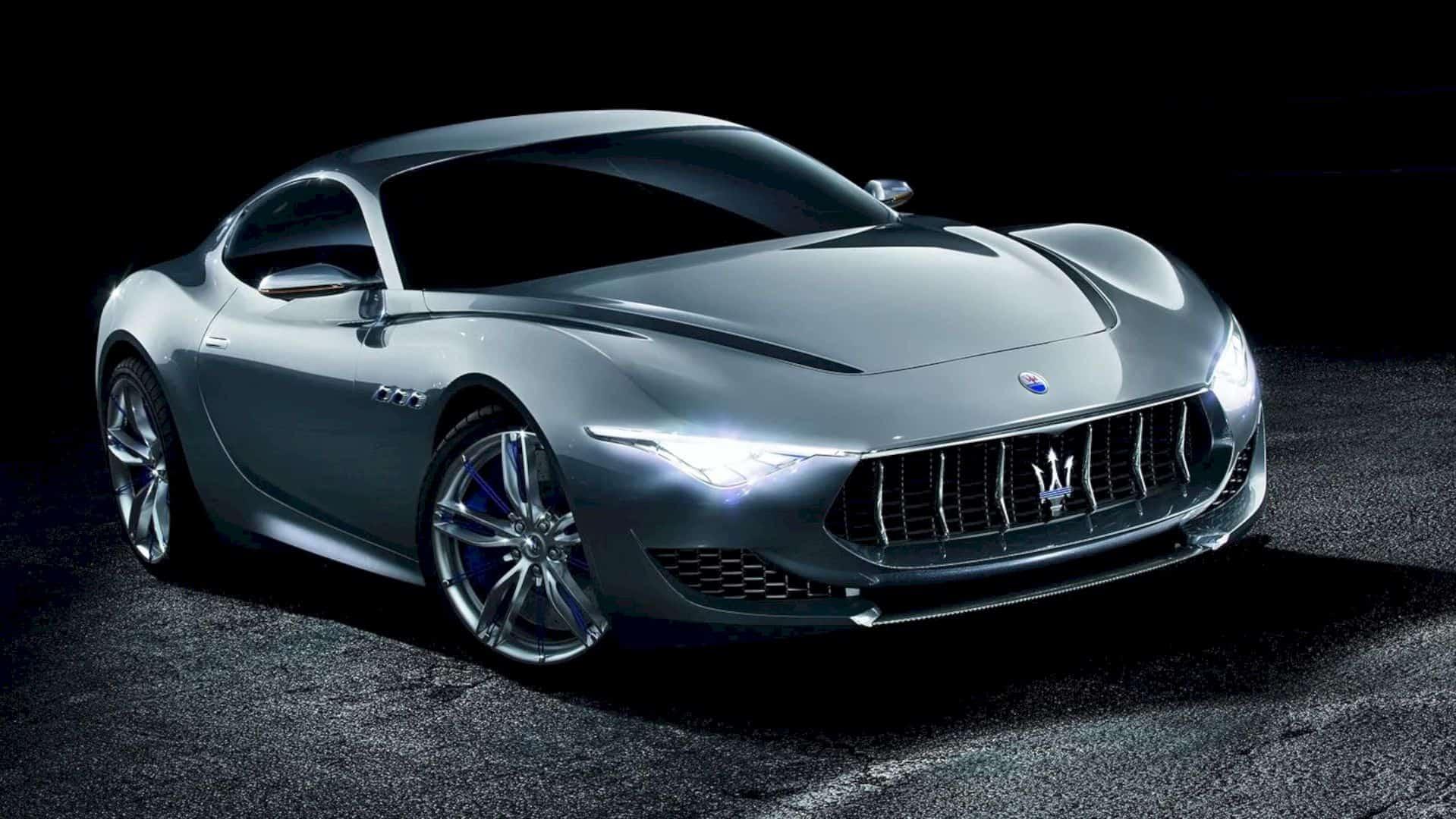 The Maserati Alfieri Concept Car 1