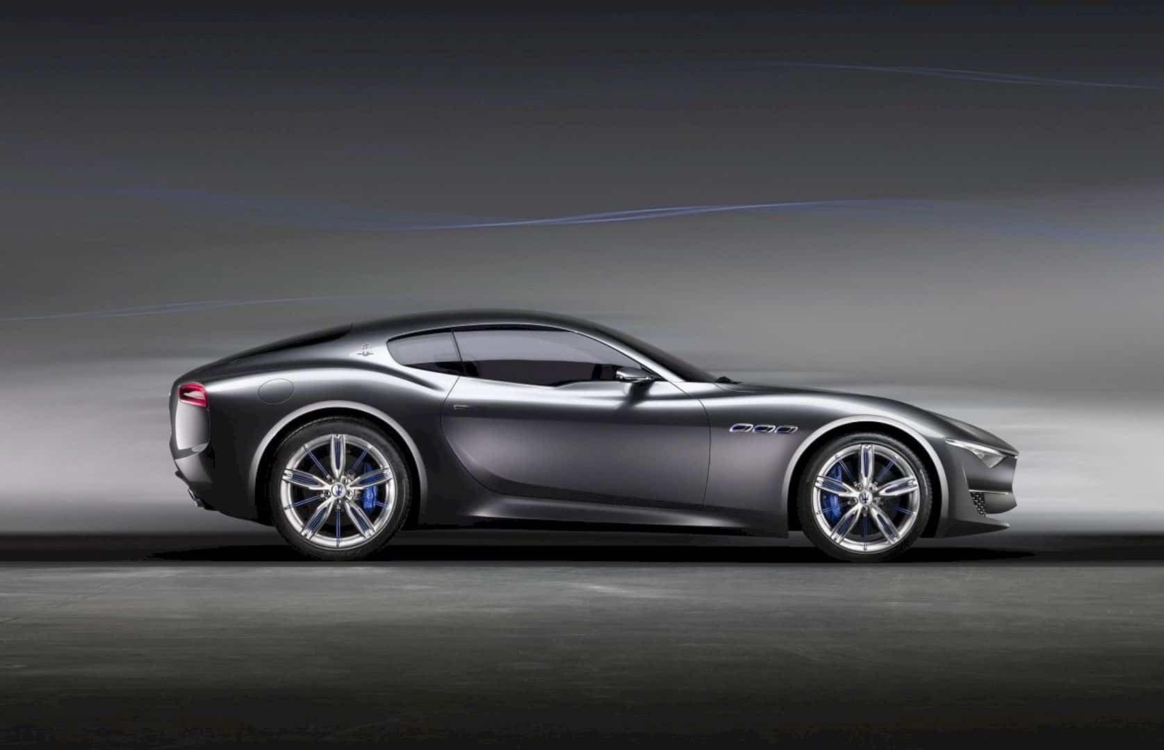 The Maserati Alfieri Concept Car: The Future of Maserati design.