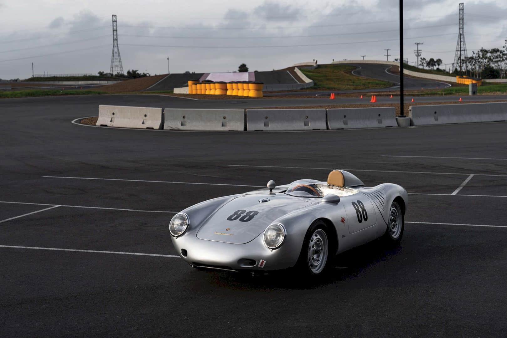 1957 Porsche 550 A 8