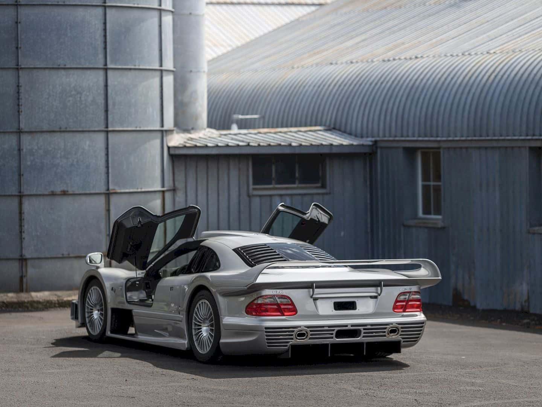 1998 Mercedes Benz Amg Clk Gtr 8