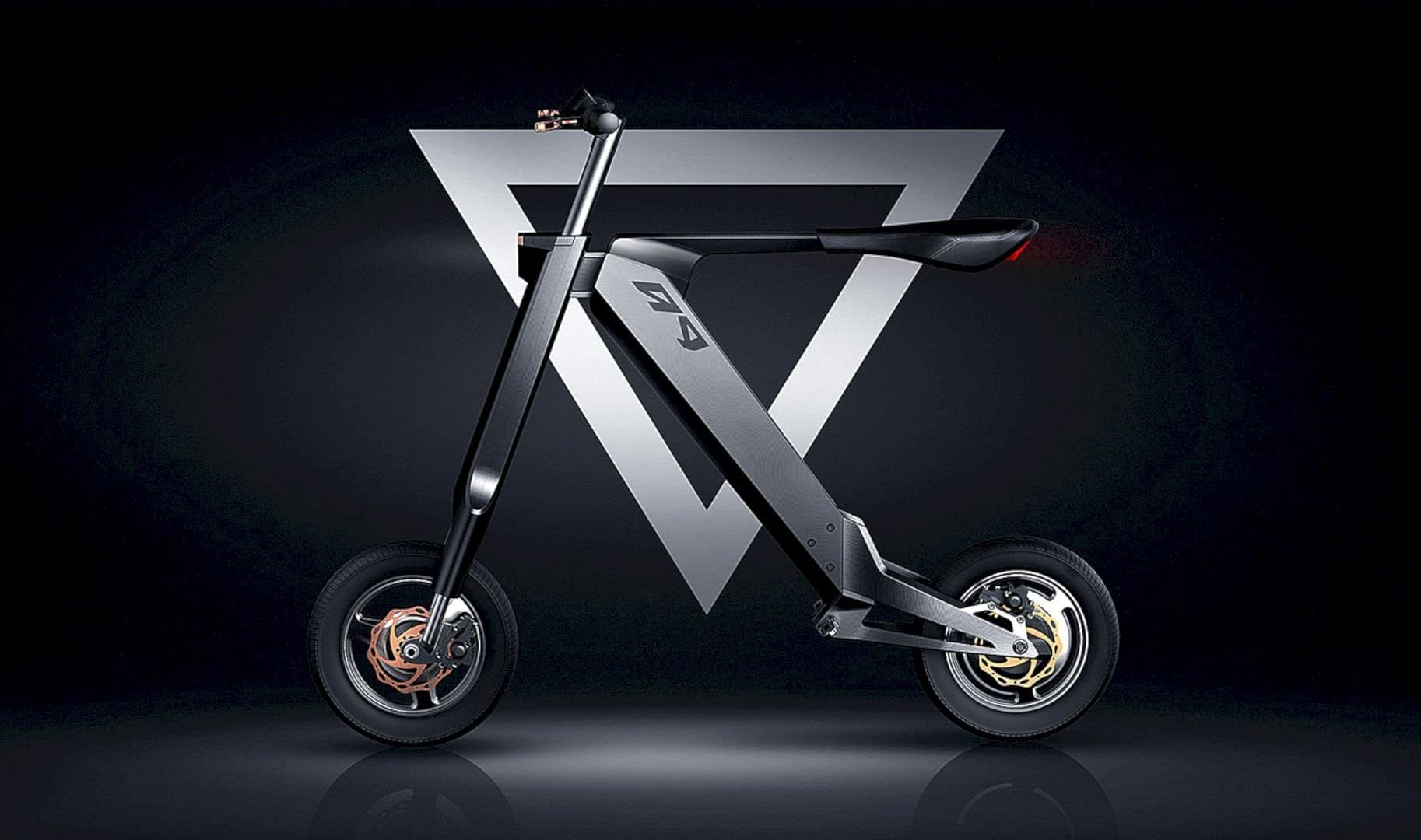 AK-1: A New Concept Design of Automatic Folding Electric Bike