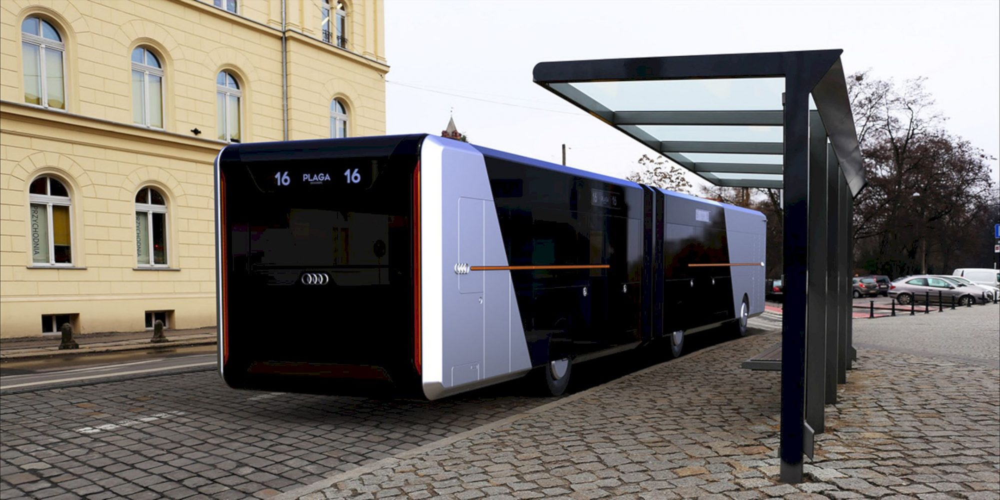 Audi City Bus 13