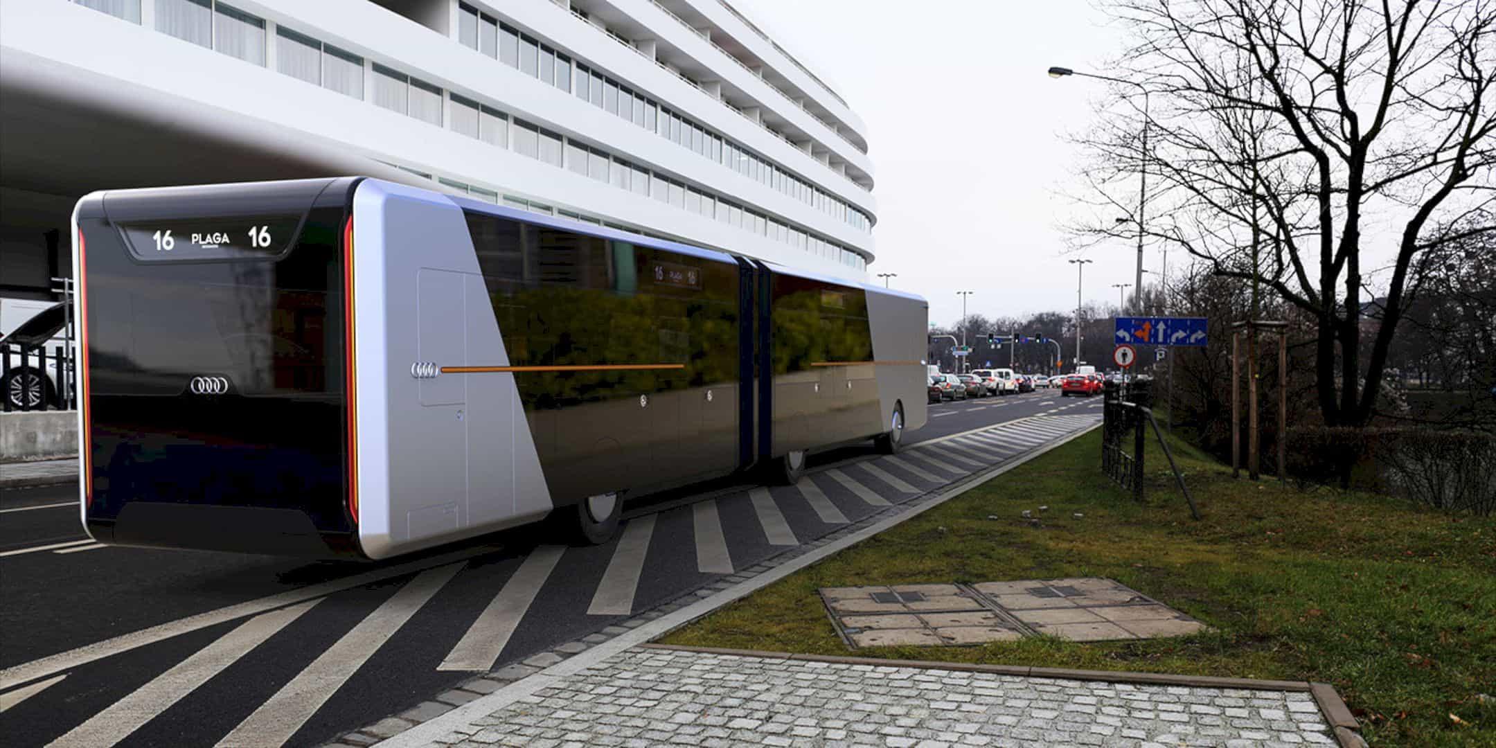 Audi City Bus 3