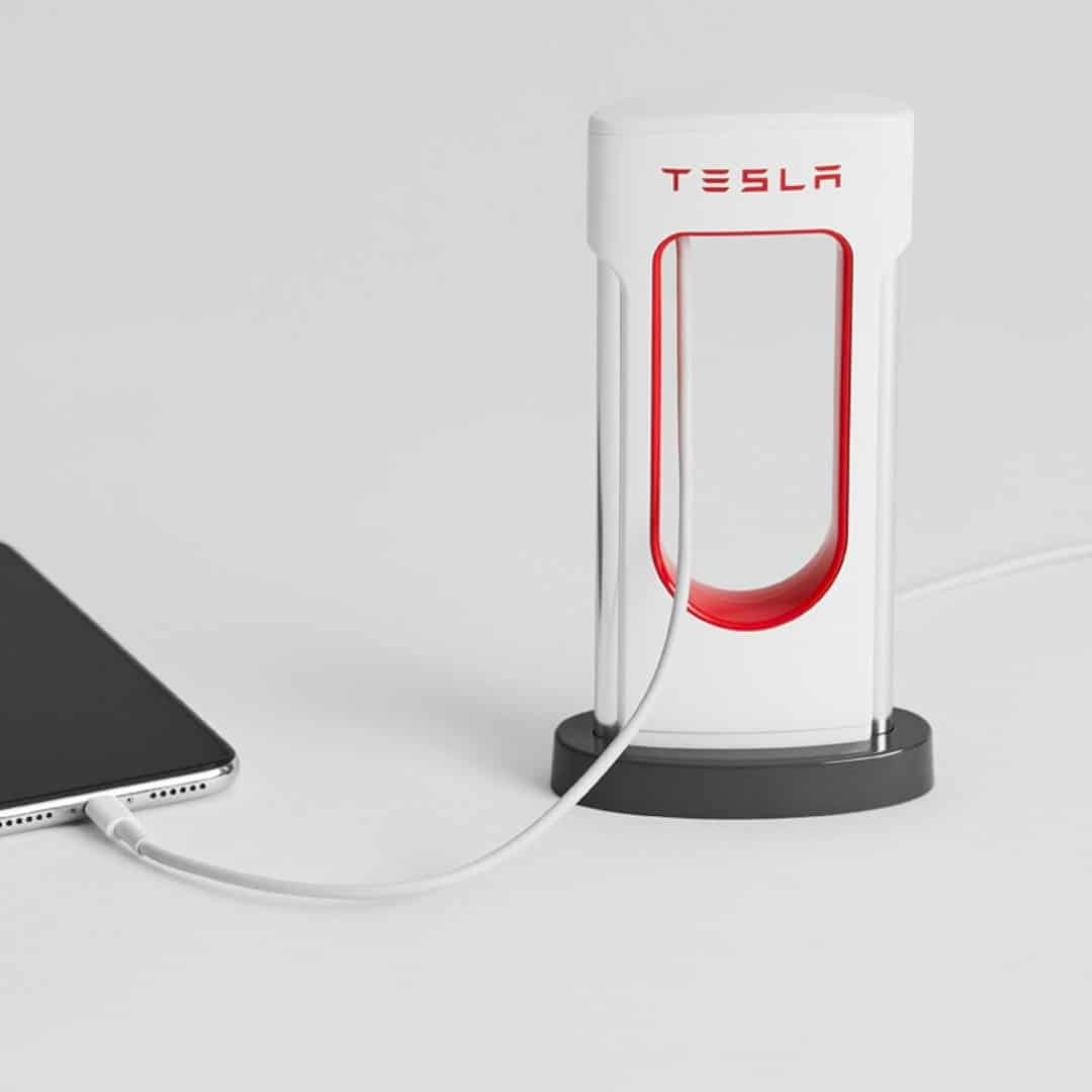 Desktop Supercharger: A Scale Model of Supercharger from Tesla