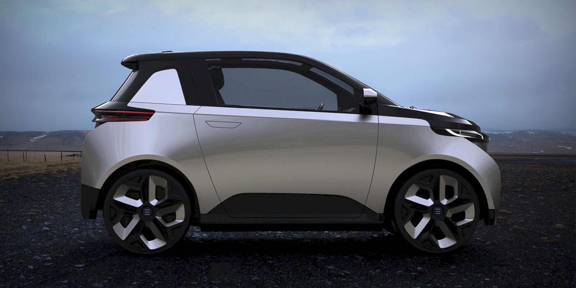 EONE: A Two-Person Electric Car Concept with Uncomplicated Design