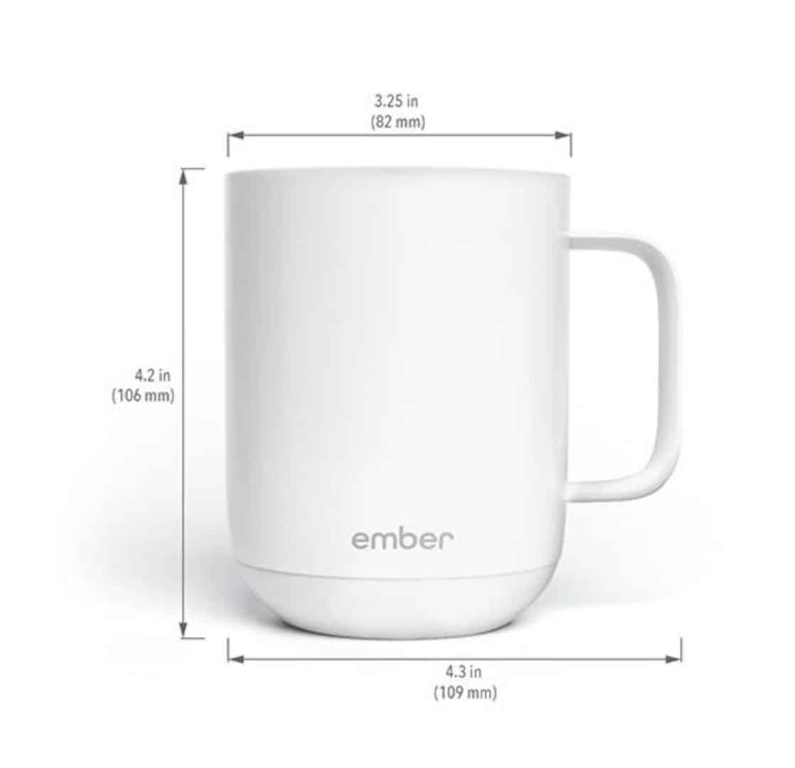 Ember® Beverages Your Ceramic MugKeeping At The Perfect On0PkXZ8wN