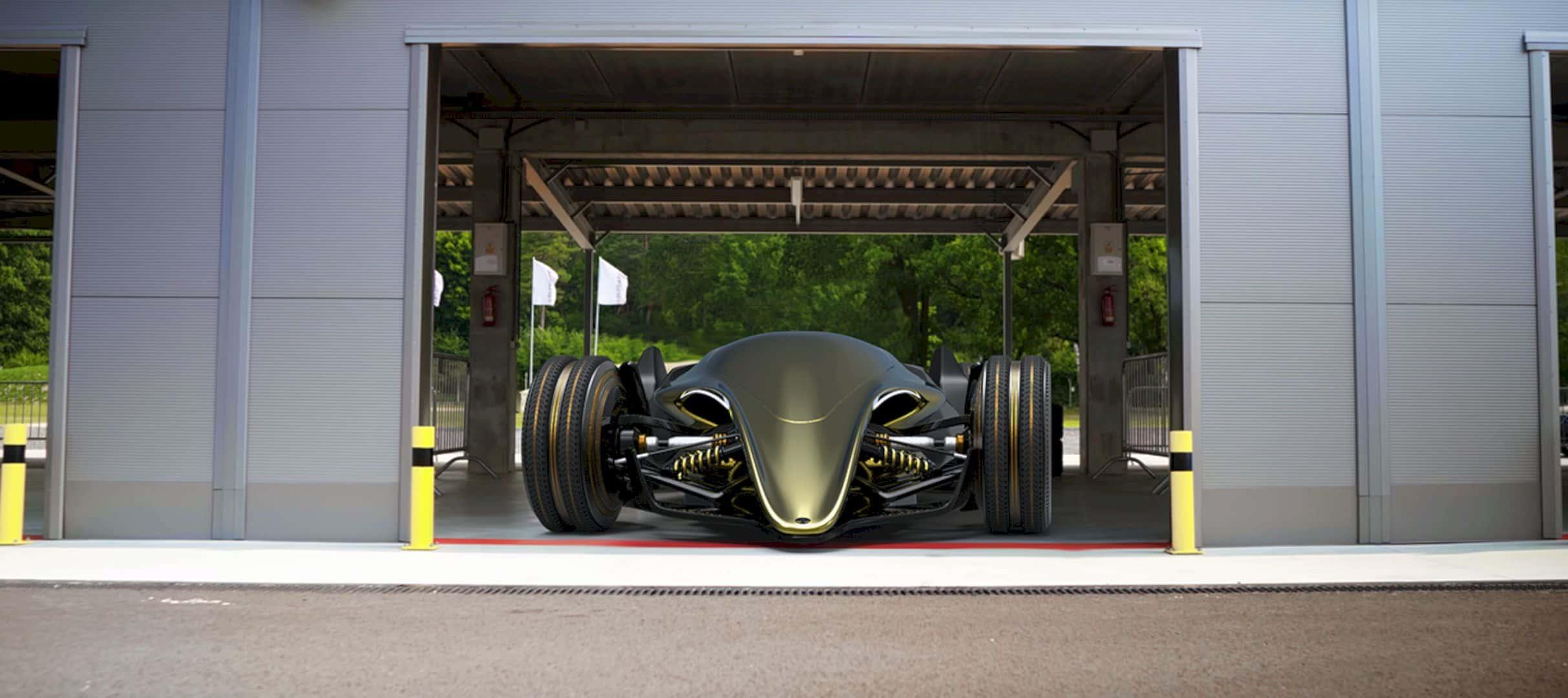 Toyota Car FT X Race Car 1